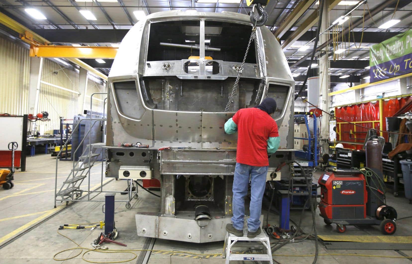 L'usine Siemens, à Sacramento