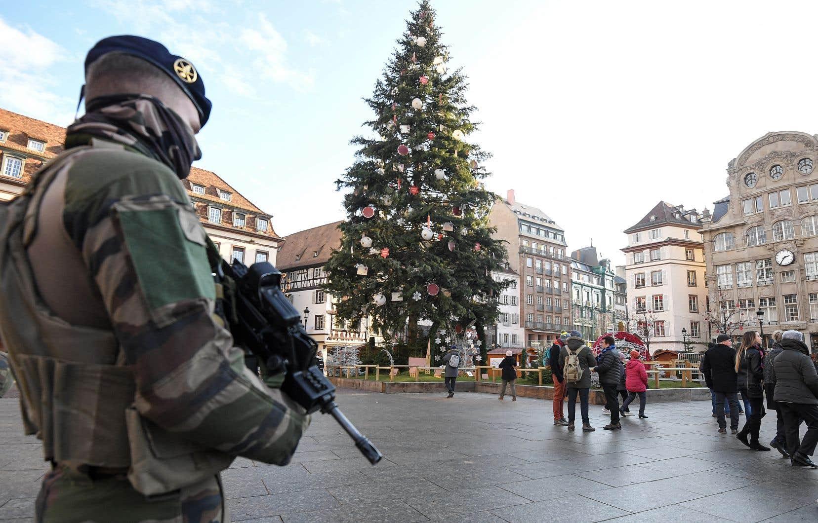 Plus de 700 membres des forces de l'ordre étaient à la recherche de l'assaillant.