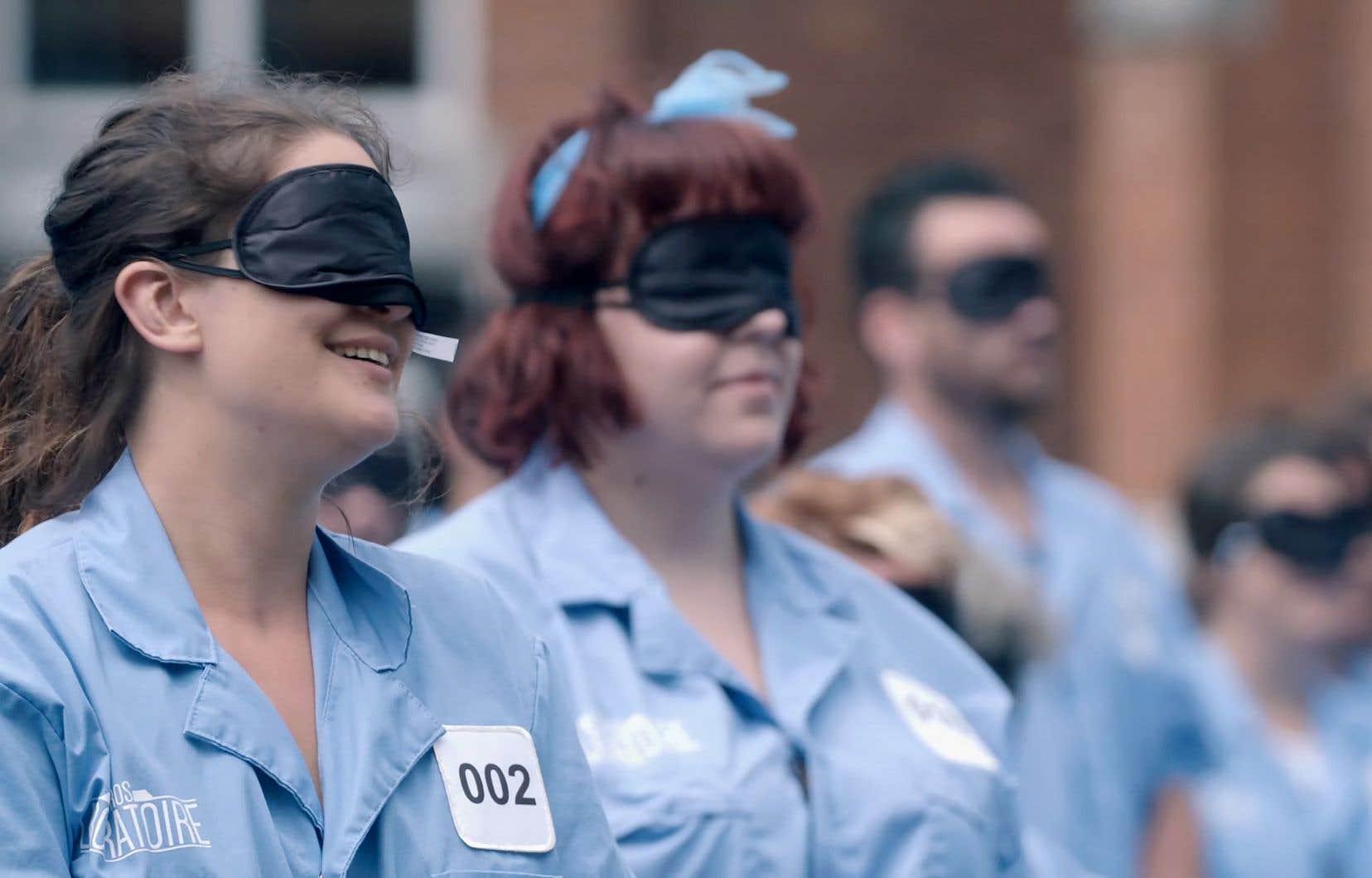Réunis pendant une semaine dans les murs de l'Université Bishop's, 100 cobayes volontaires ont joué les rats de laboratoire.