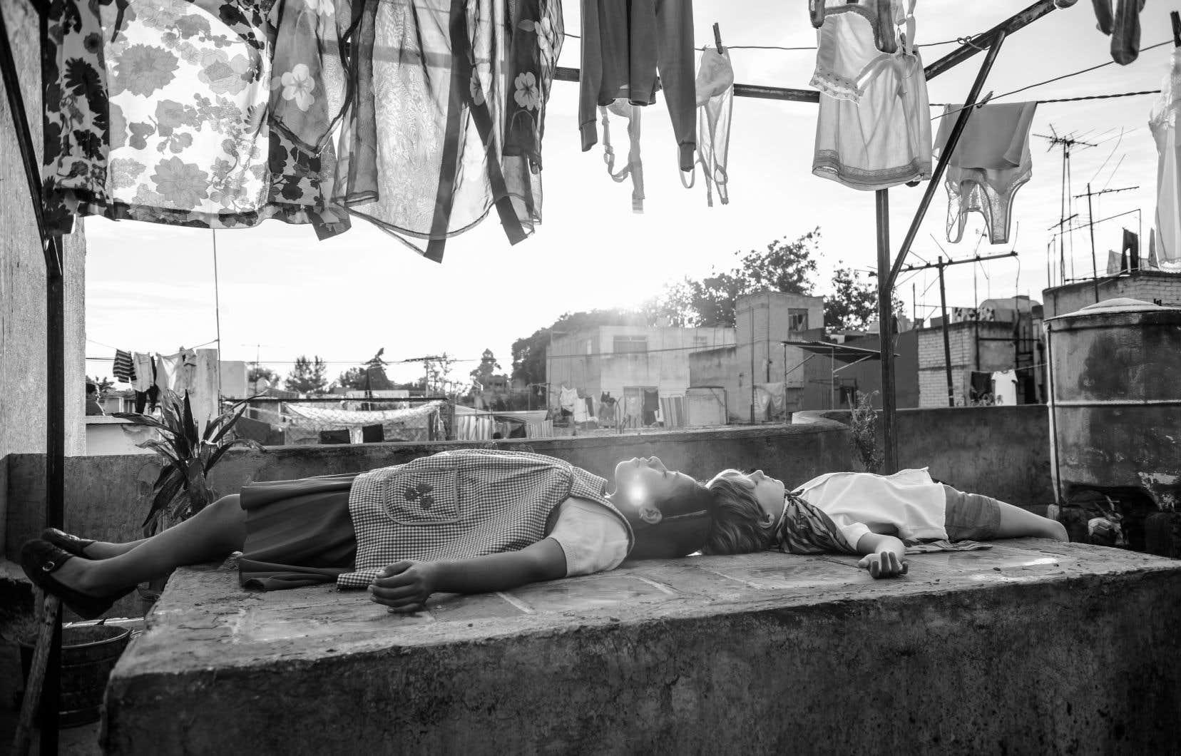 Scène tirée de «Roma»,d'Alfonso Cuarón
