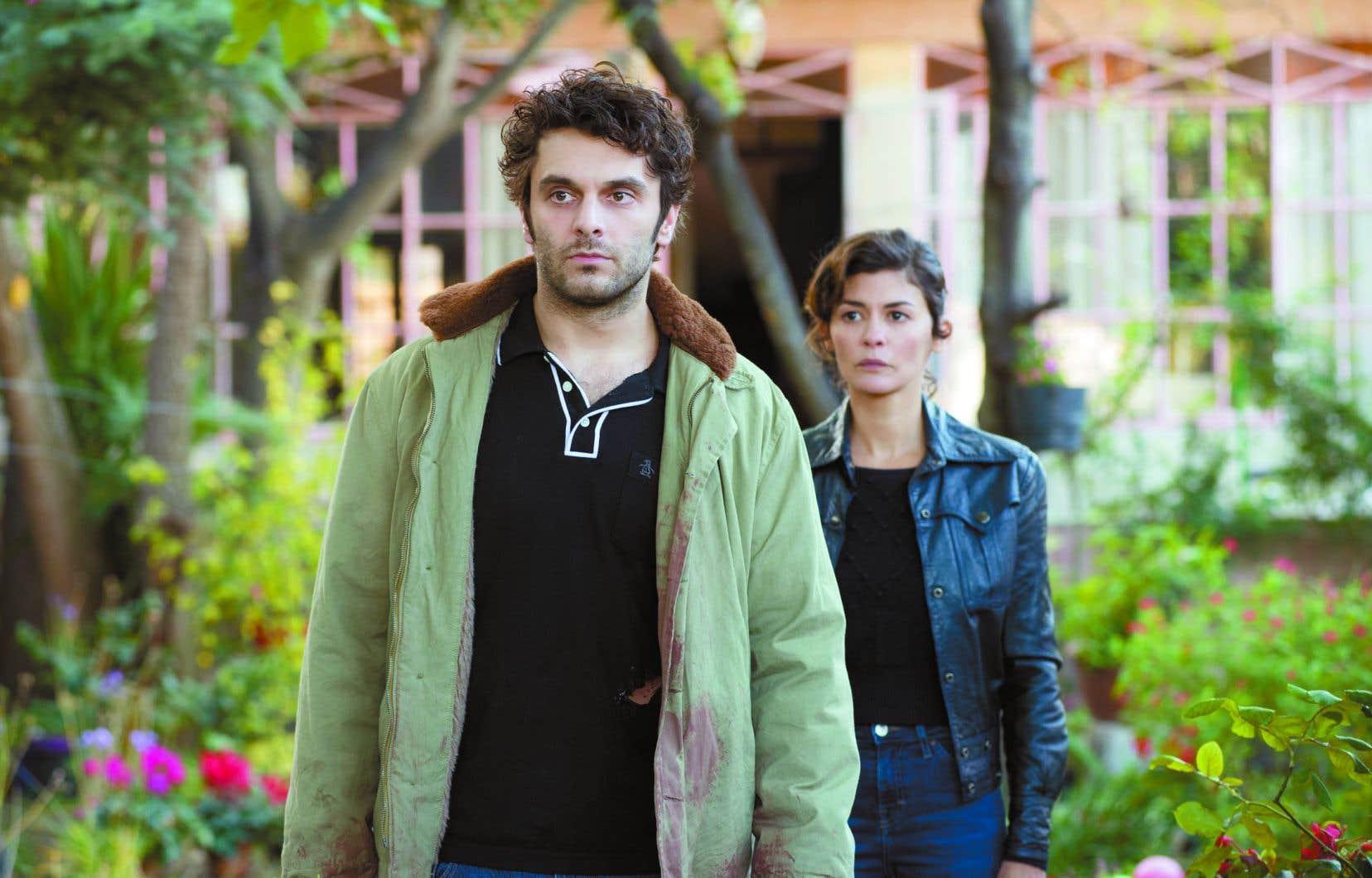 Les acteurs français Pio Marmaï et Audrey Tautou (sur notre photo) revêtent respectivement les rôles d'Antoine et d'Agnès.