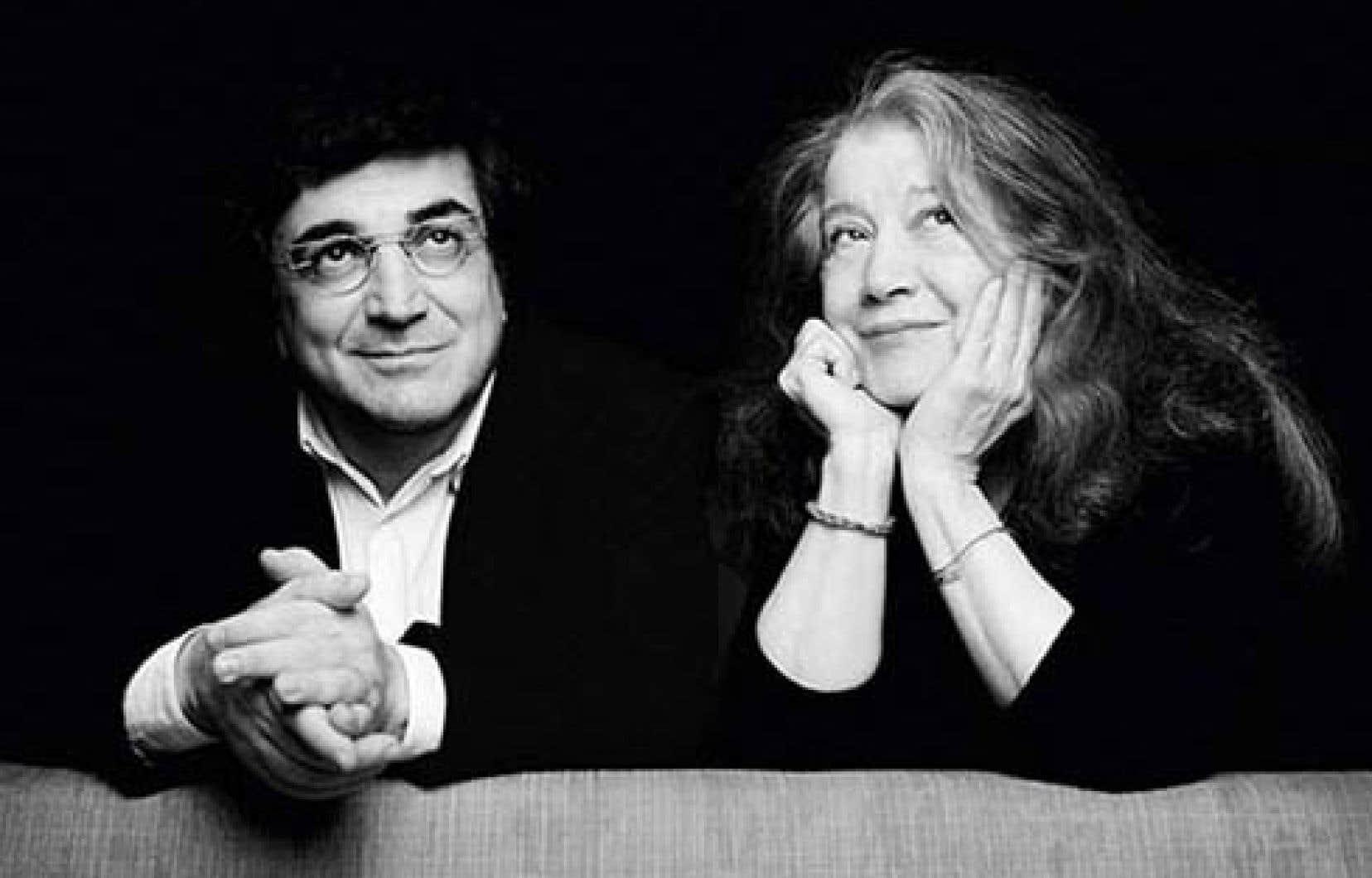 Sergeï Babayan et Martha Argerich