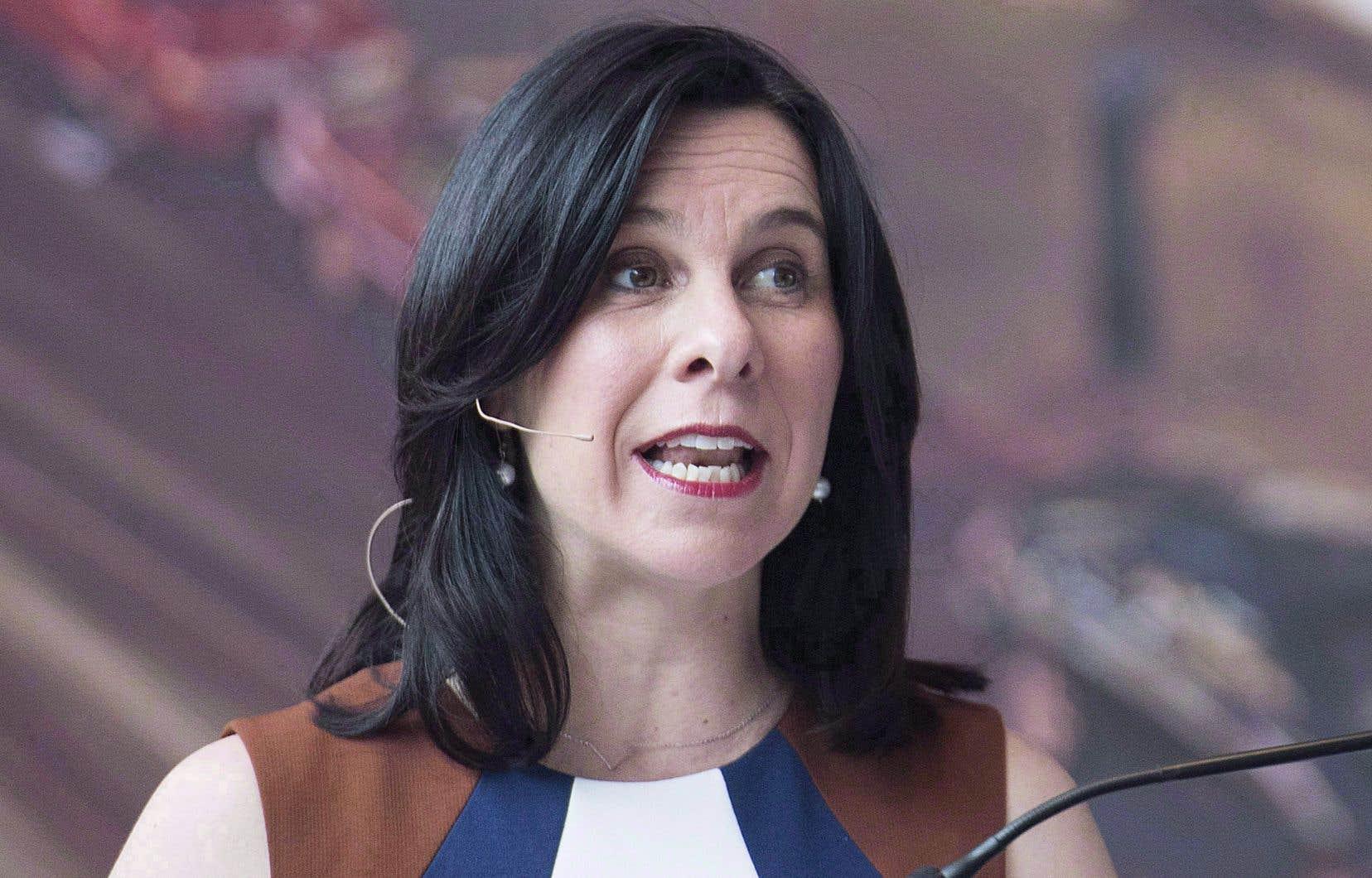La semaine dernière, la mairesse Plante avait fait deux annonces critiquées par l'opposition.