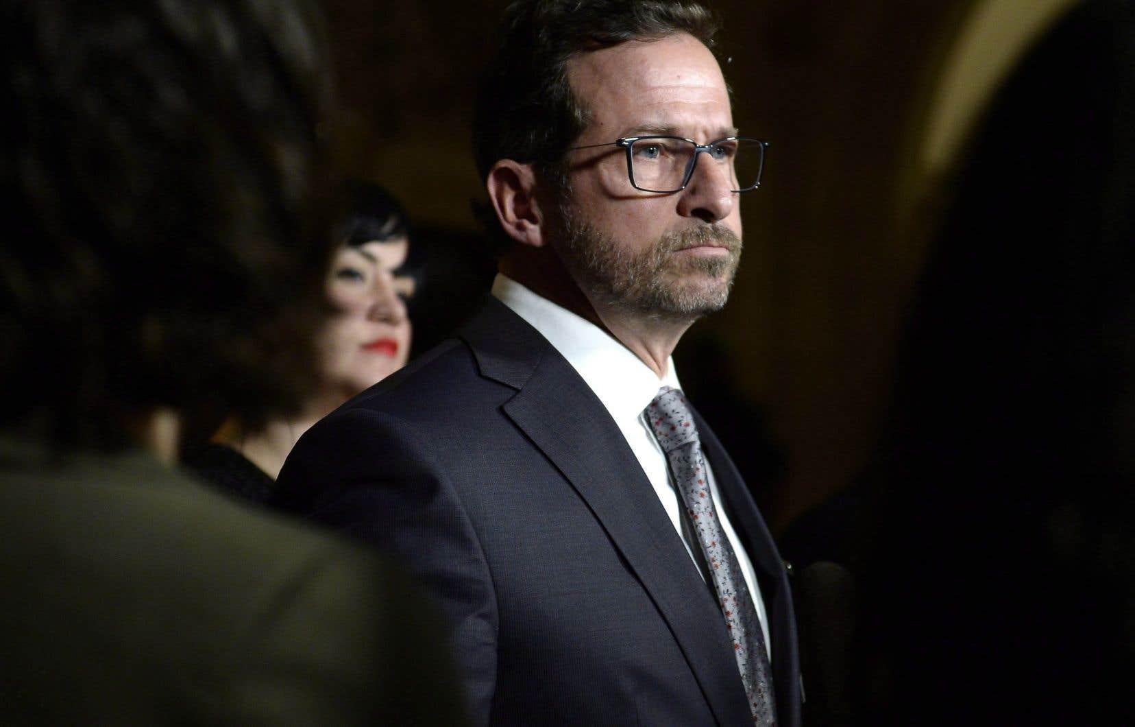 Yves-François Blanchet peut compter sur l'appui de neuf des dix députés du Bloc.