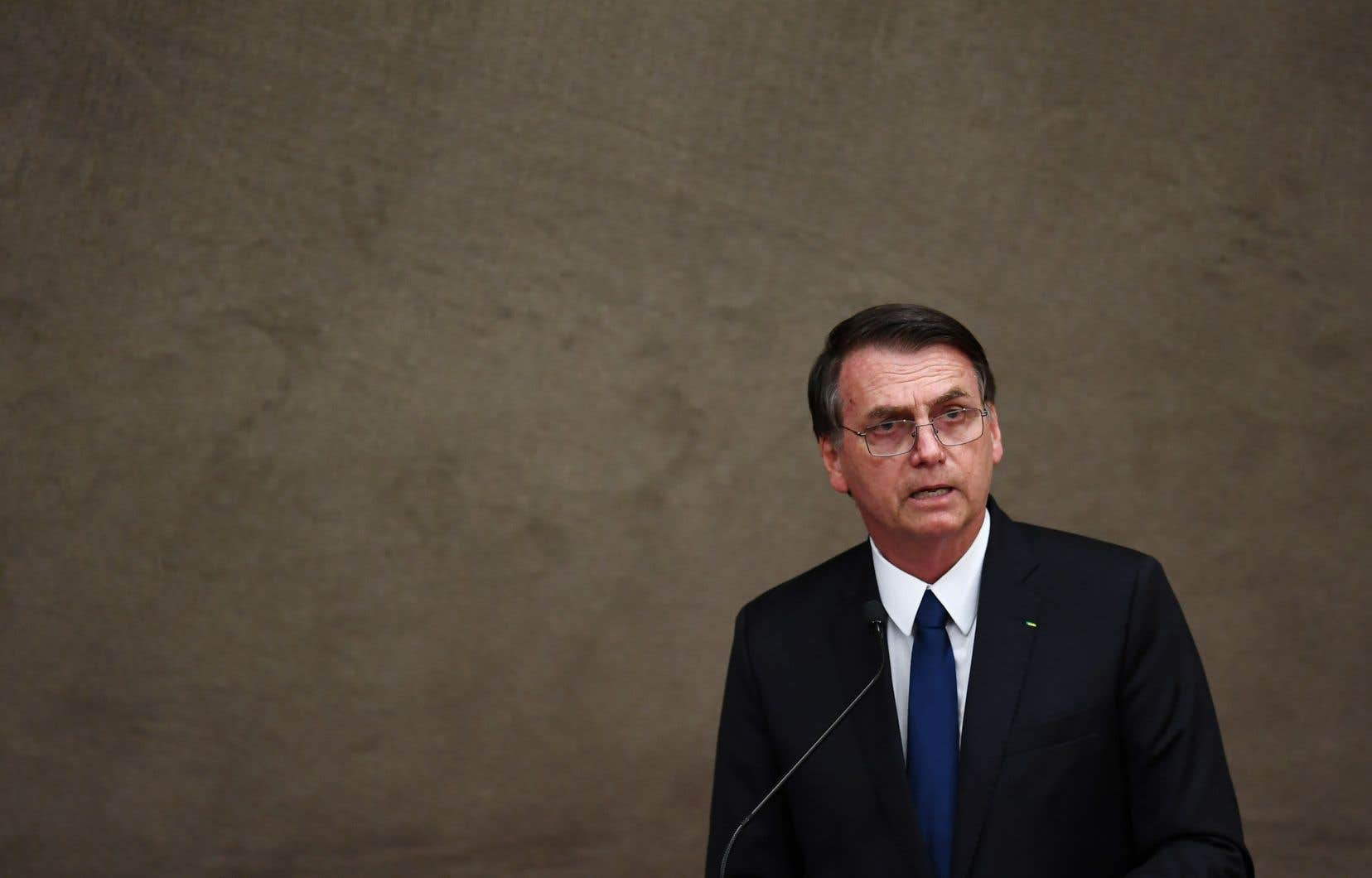 Le président brésilien, Jair Bolsonaro