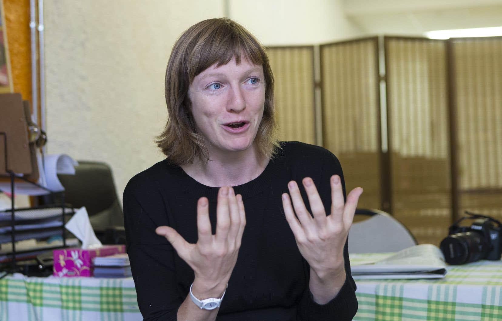 La député de Taschereau, Catherine Dorion
