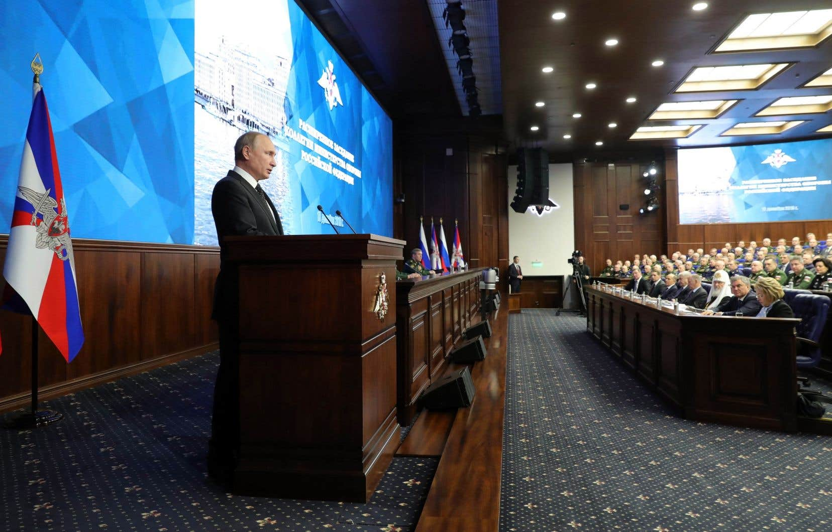 Vladimir Poutine a suggéré d'accueillir de nouveaux pays dans le traité INF, signé et appliqué seulement par les États-Unis et la Russie.
