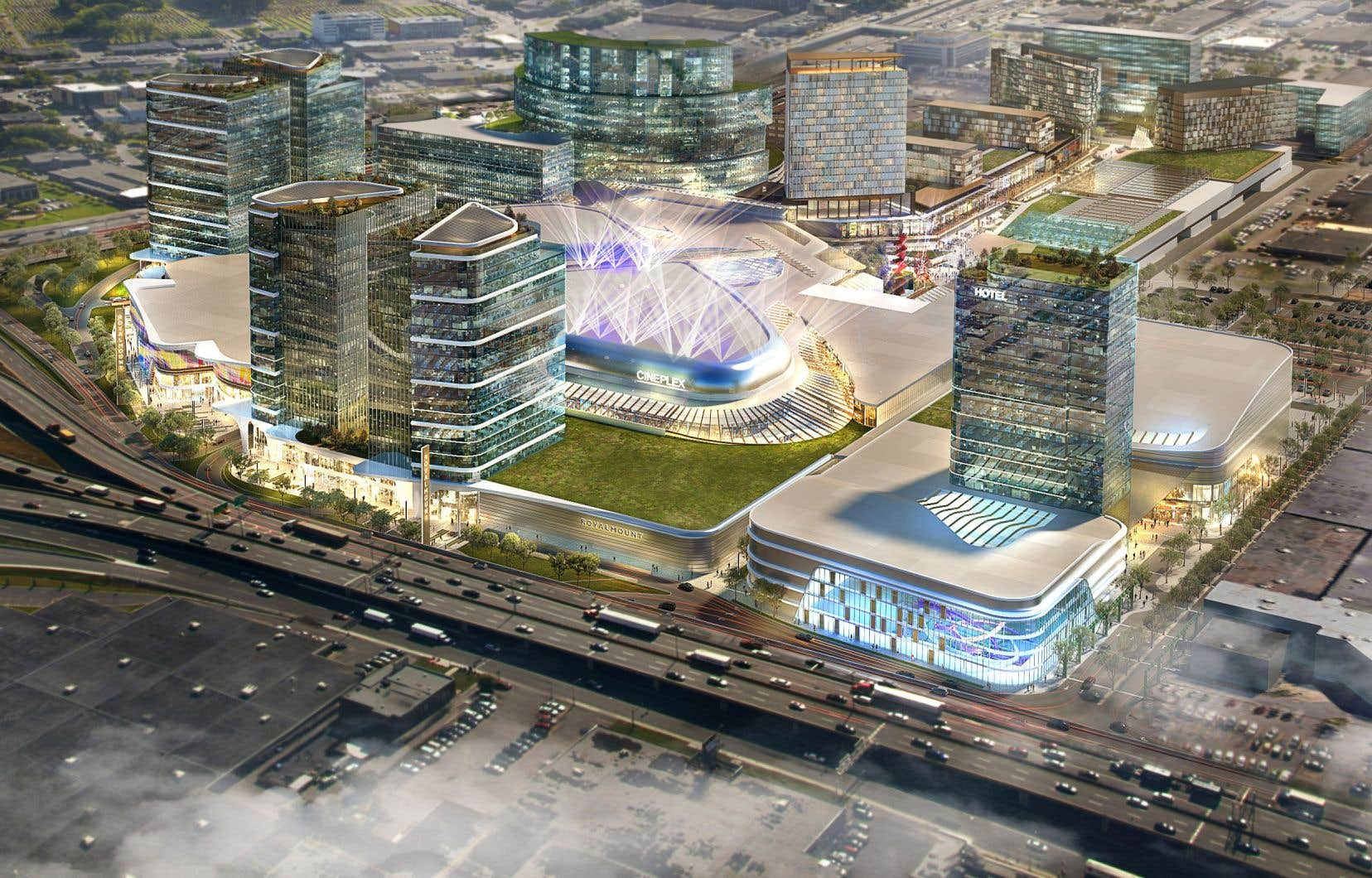La construction du Royalmount n'inquiète pas seulement le milieu du spectacle, mais aussi les commerçants montréalais.
