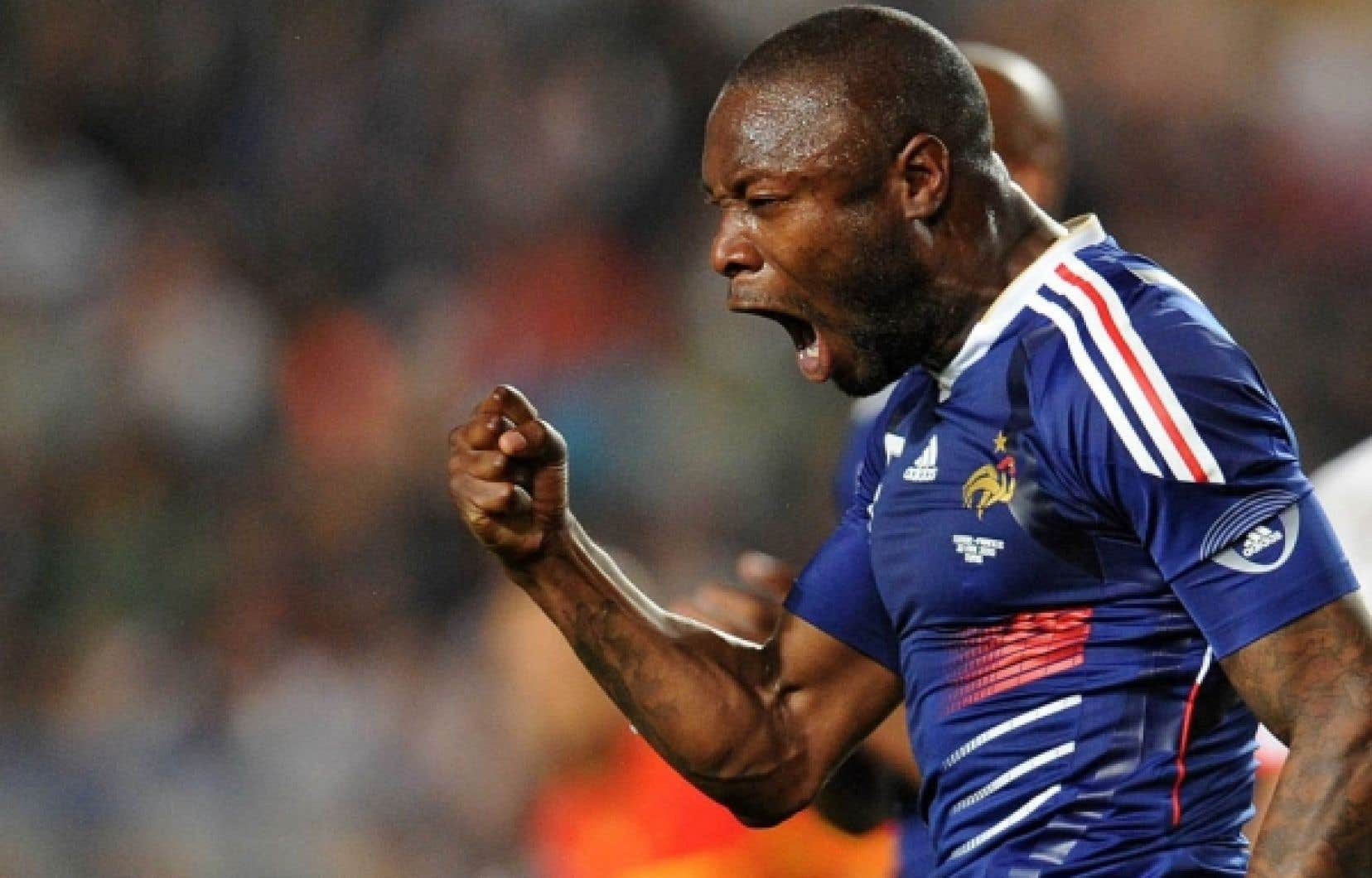 Le défenseur William Gallas, de l'équipe de France