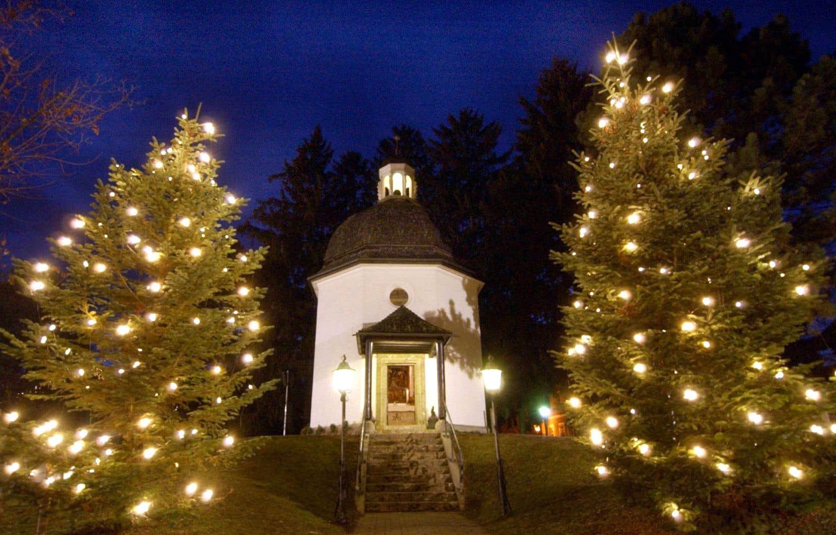 La chapelle du village d'Oberndorf, près de Salzbourg