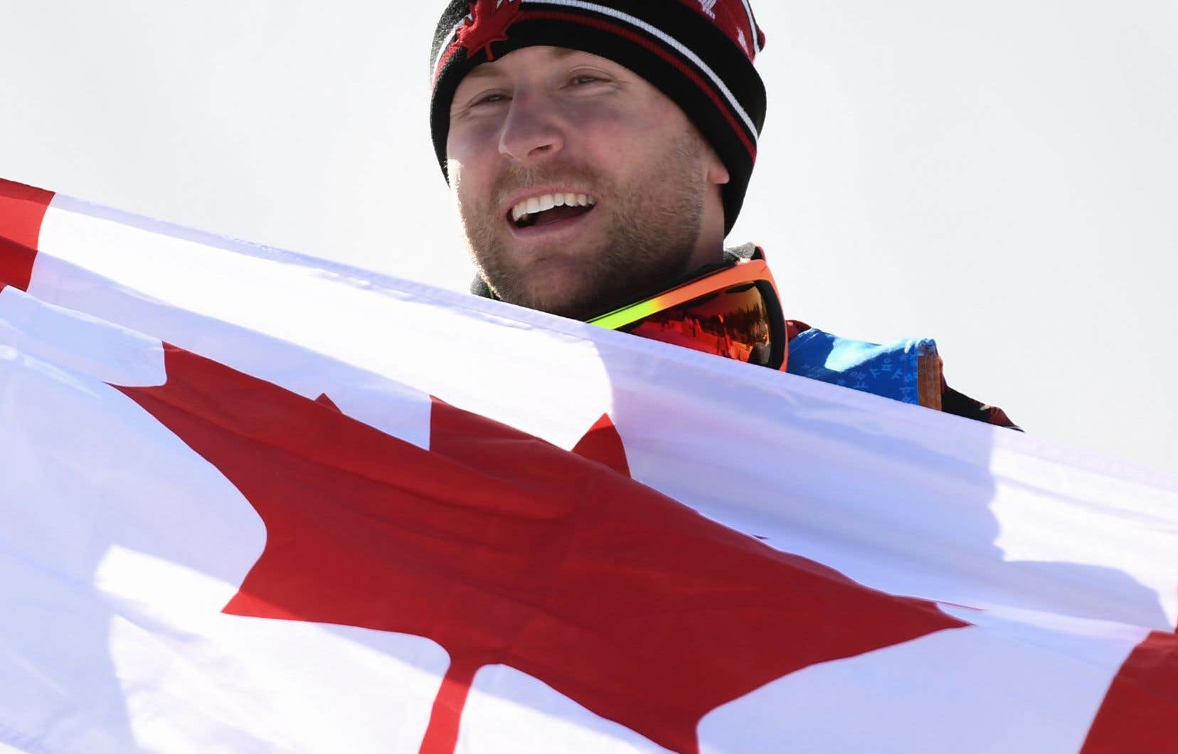 Brady Leman aux Jeux olympiques de Pyeongchang