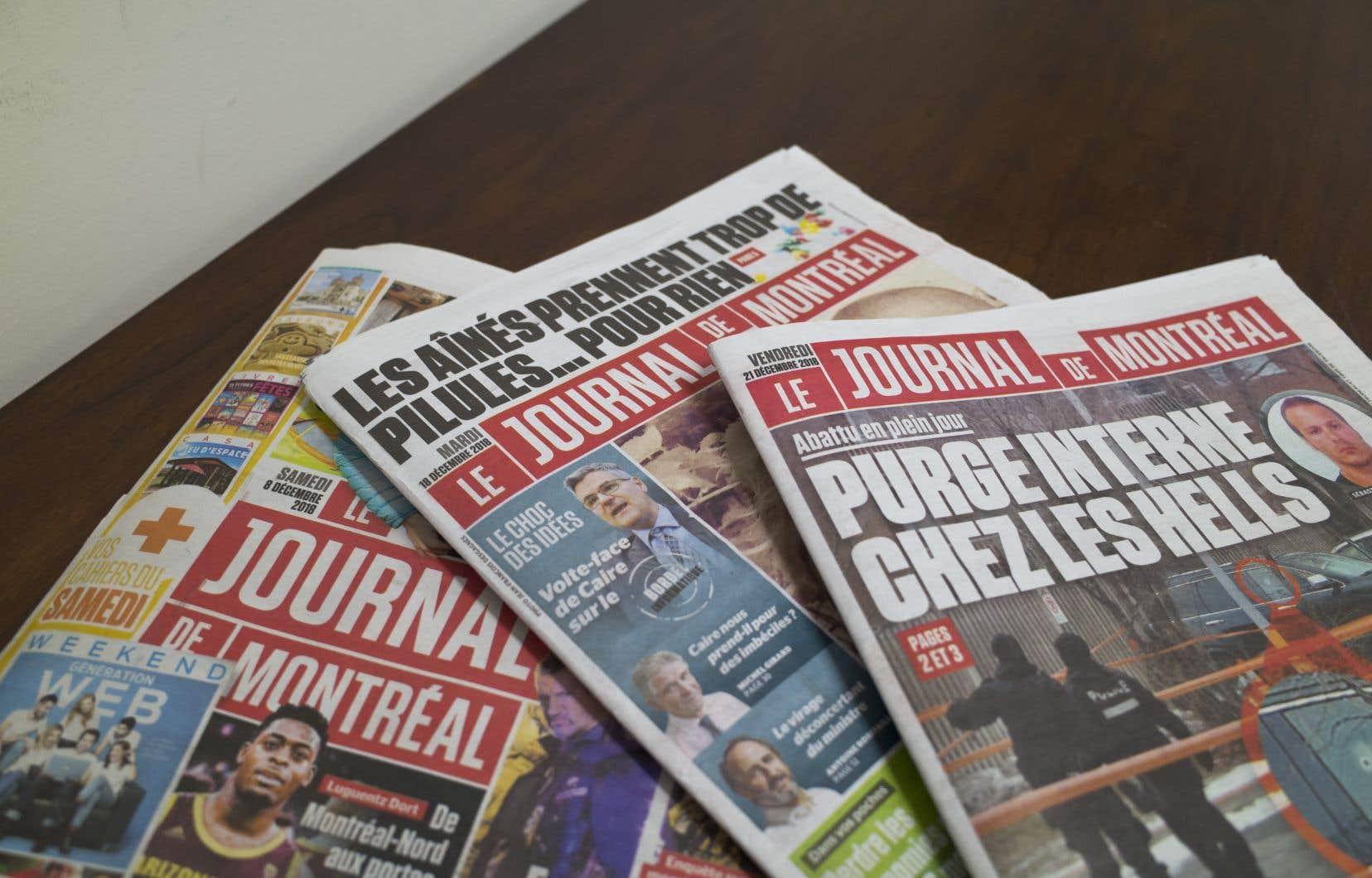 «Le Journal de Montréal» a cessé de publier les lettres de ses lecteurs dans son édition papier.