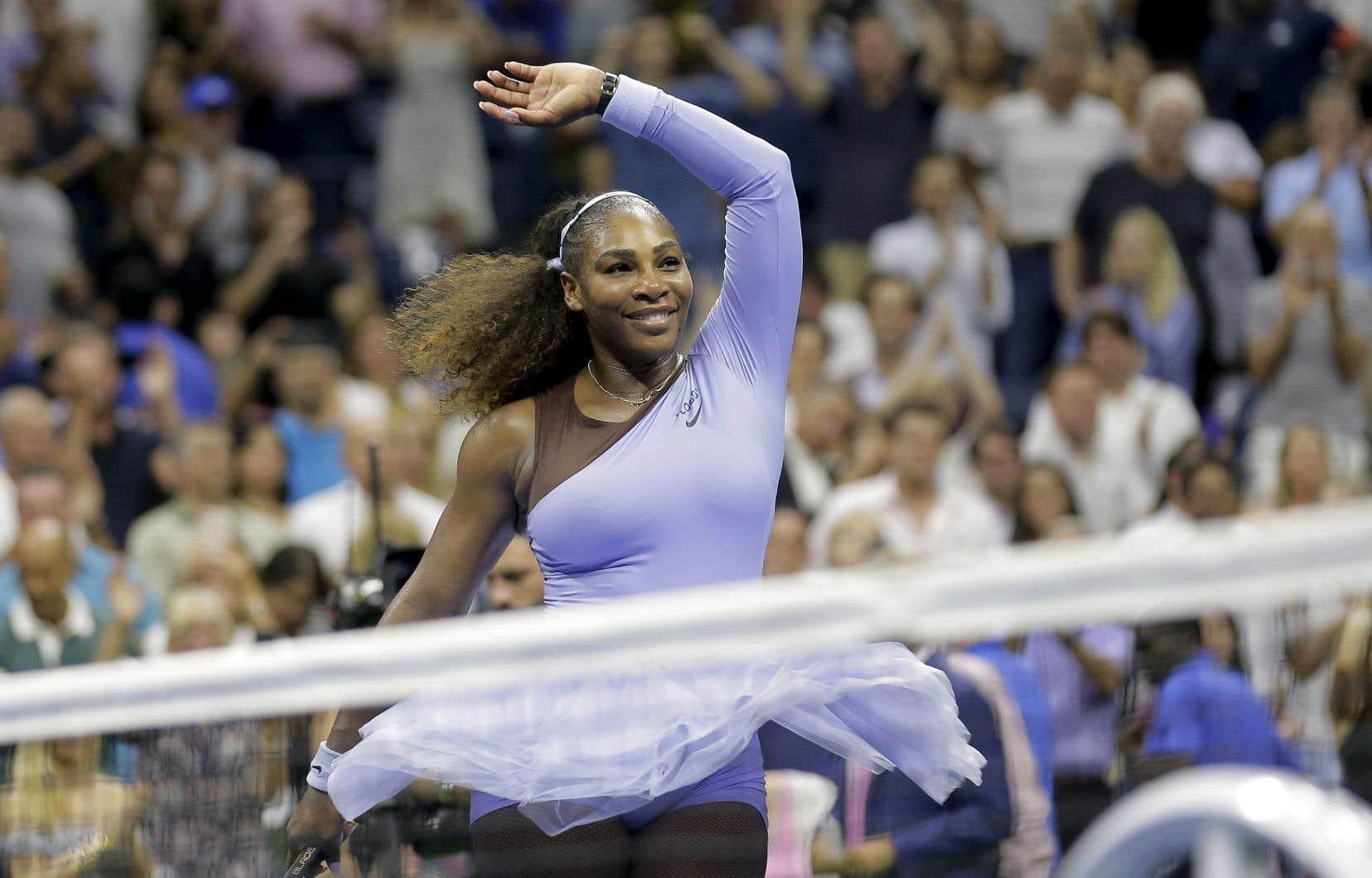 Serena Williamsa connu une année 2018 exceptionnelle.