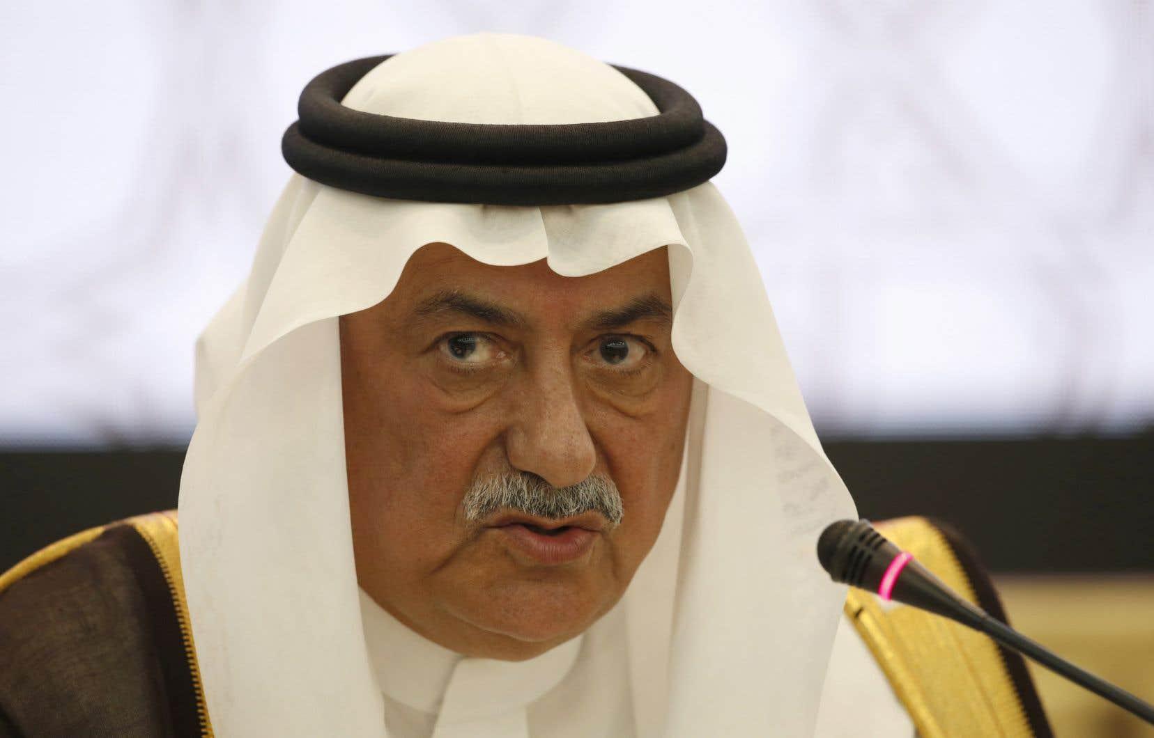 Ancien ministre des Finances, Ibrahim al-Assaf a été nommé chef de la diplomatie.