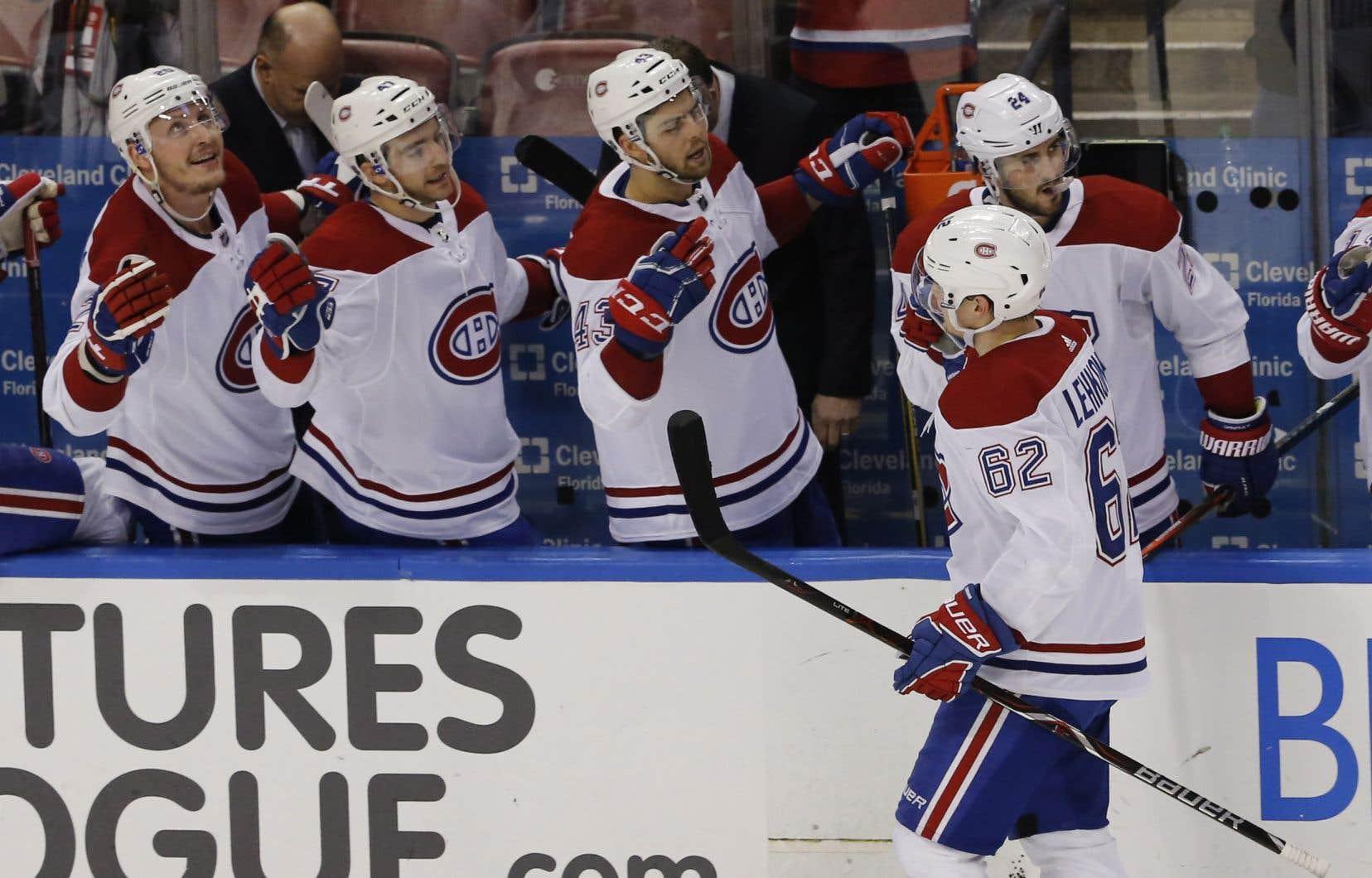 Le Canadien n'est maintenant qu'à deux points des Sabres de Buffalo et du troisième rang de la section Atlantique.