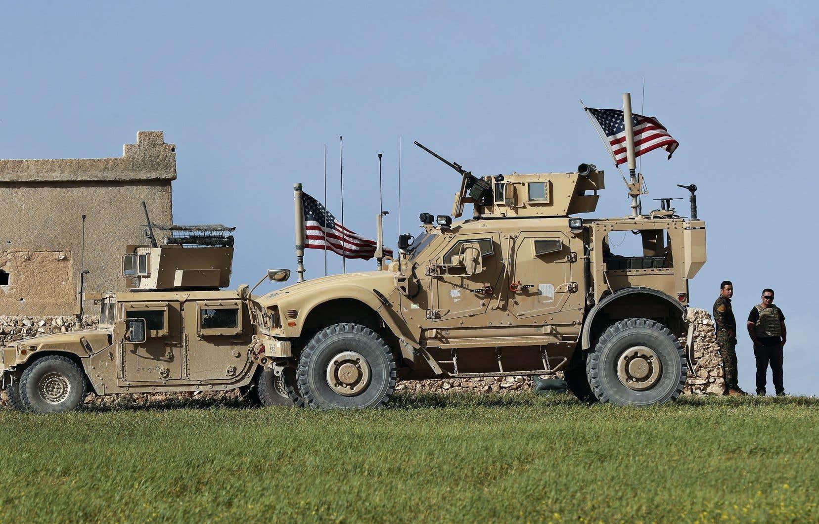 Washington a décidé de retirer ses troupes de la Syrie le 19 décembre dernier.