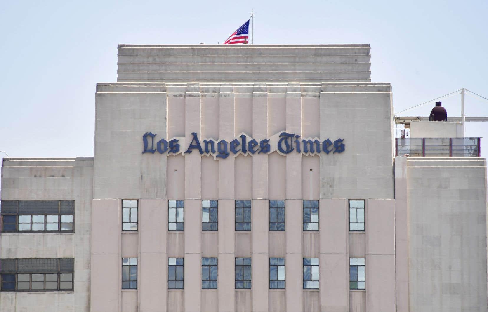 La grande majorité des lecteurs du Los Angeles Times ont reçu leur journal samedi matin avec du retard.