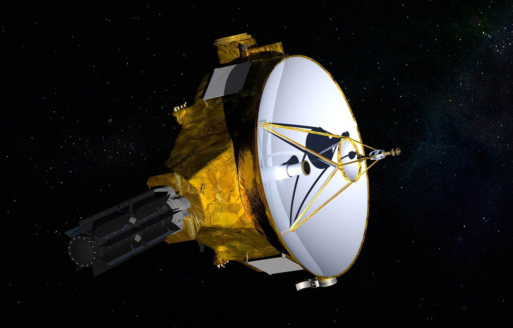 La sonde New Horizons, qui est grosse comme un piano demi-queue, a quitté la Terre le 19 janvier 2006.