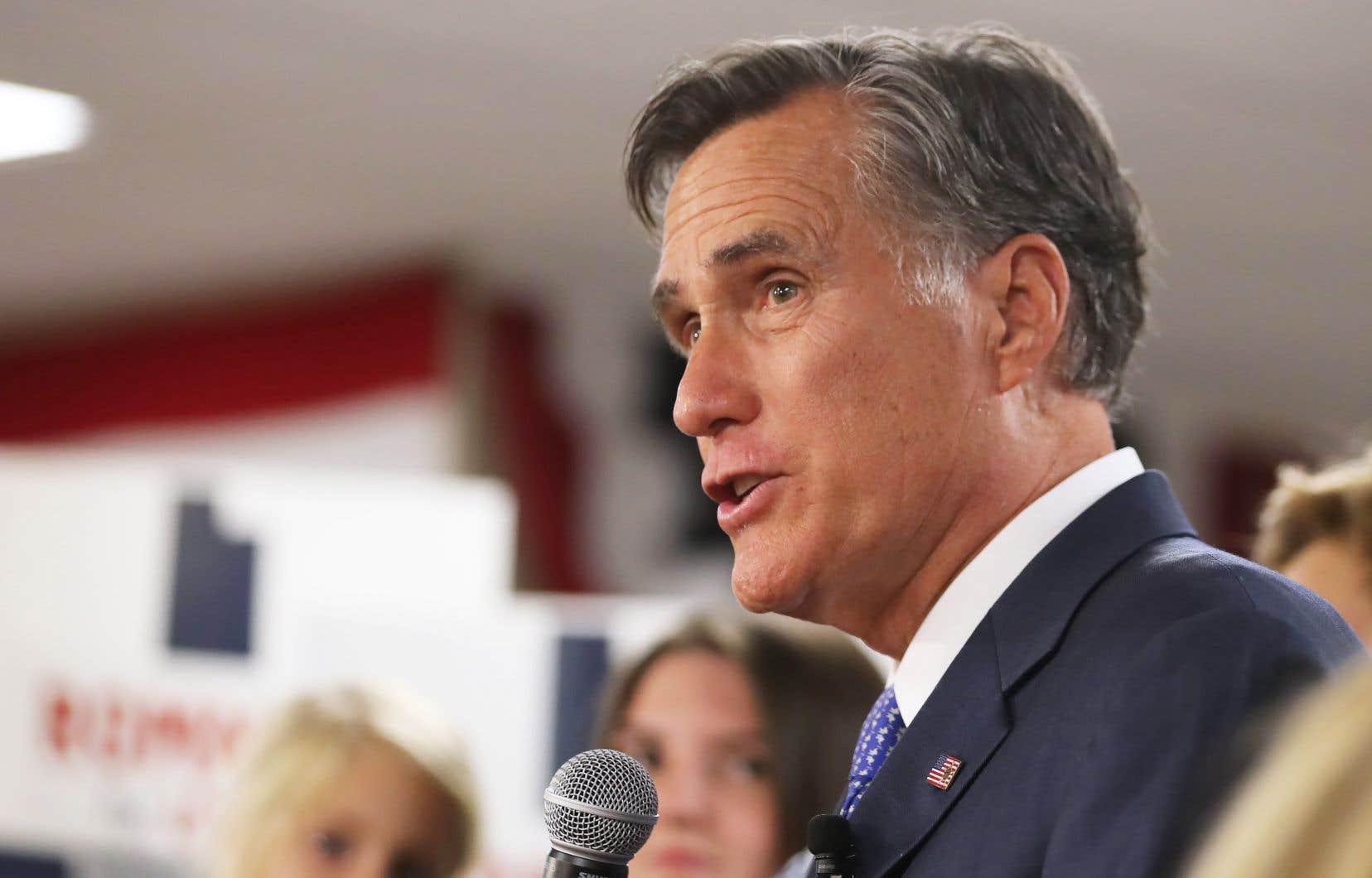 L'ancien candidat républicain à la présidentielle américaine Mitt Romney s'apprête à faire son entrée au Sénat.