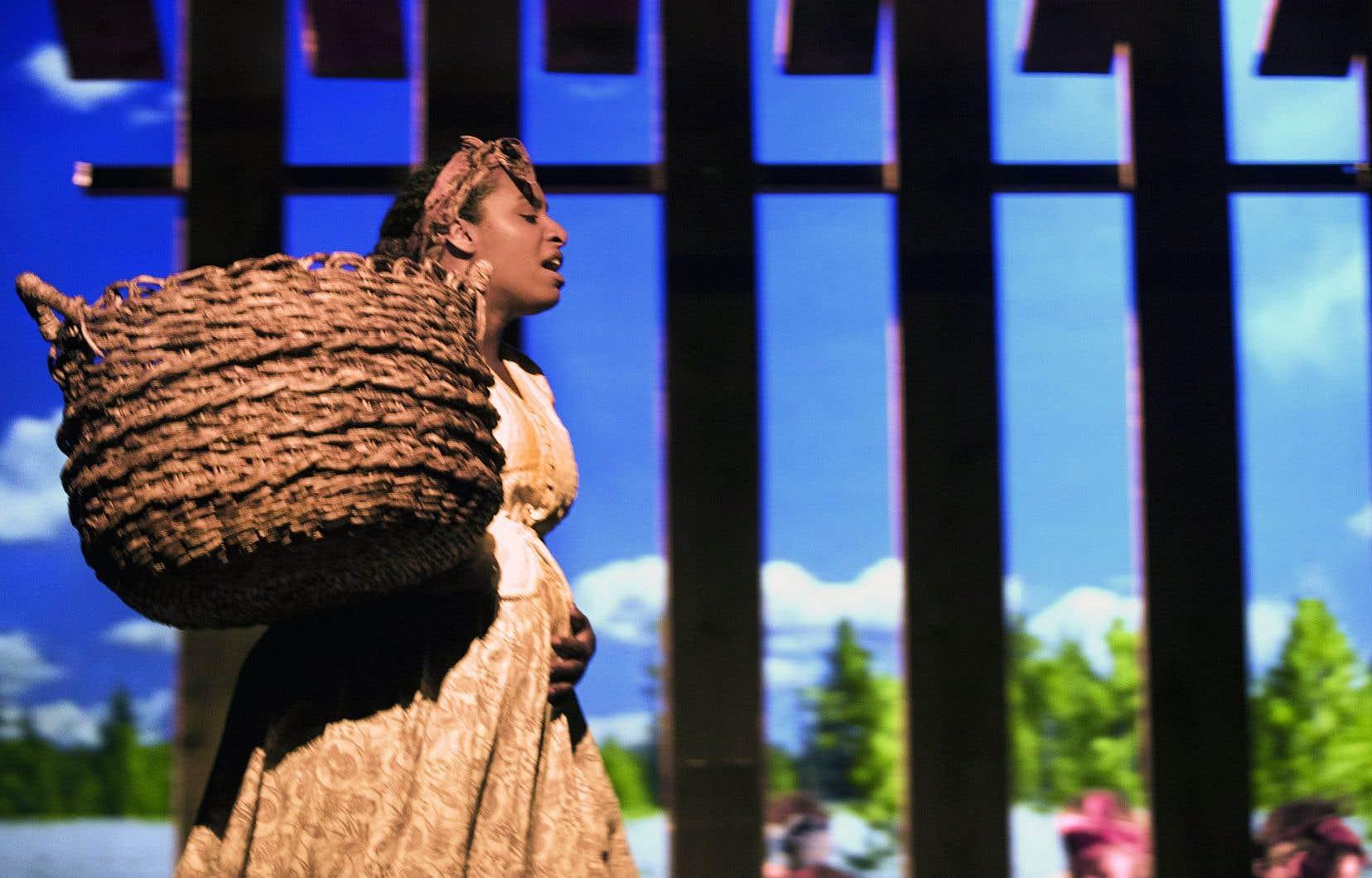 Avec «SLAV», Robert Lepage affirmait vouloir faire entendre la voix des sans-voix.