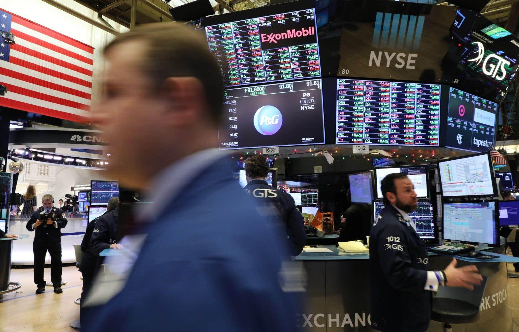 Indicateur de référence à Wall Street, le S&P 500 a dégringolé de 14% depuis la fin du mois de septembre.
