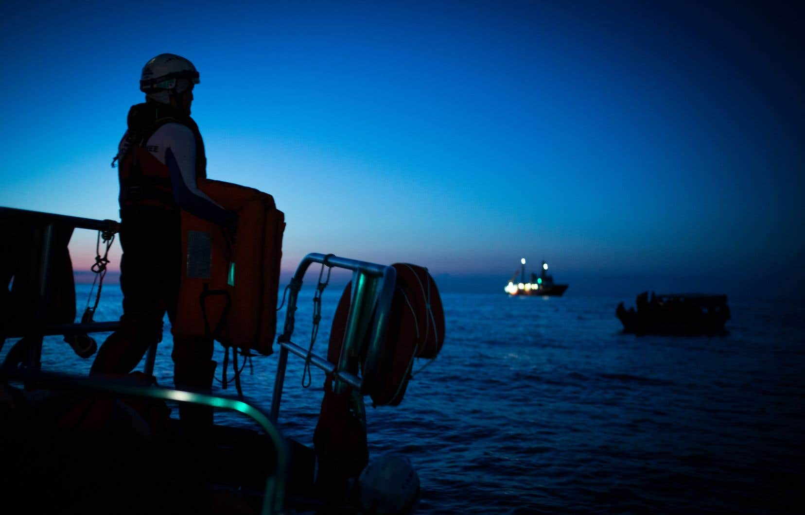 113482 personnes ont traversé la mer pour gagner les côtes des pays méditerranéens en 2018.