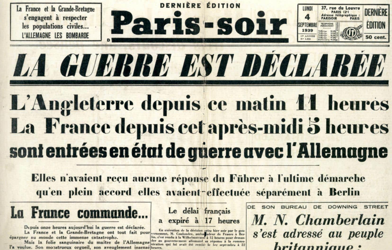 100 ans à travers les unes de la presse»: le journal comme témoin de l' histoire | Le Devoir