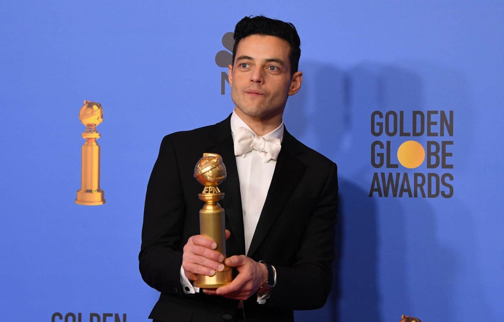 L'acteur Rami Malek a remporté le prix du meilleur acteur dramatique pour son incarnation de Freddy Mercury dans «Bohemian Rhapsody».