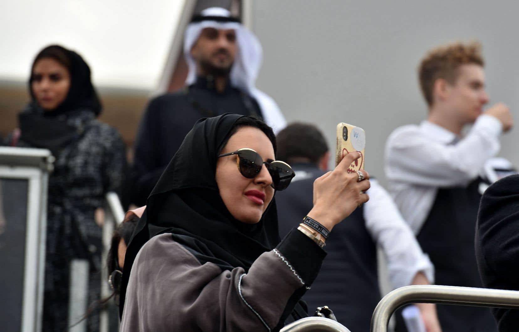 L'Arabie saoudite, royaume ultraconservateur appliquant une version rigoriste de l'islam, accorde peu de droits aux femmes.
