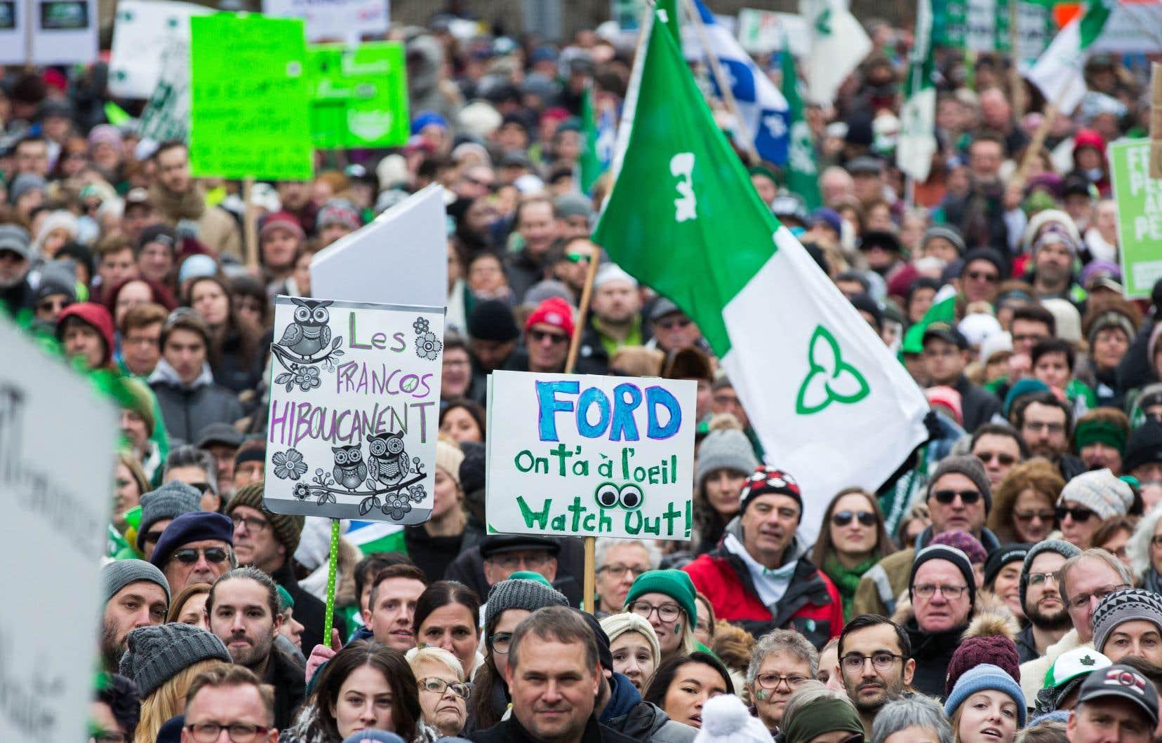 La région métropolitaine de Toronto, en particulier, ne compte que 41000 francophones en 2016 selon Laurendeau-Dunton.