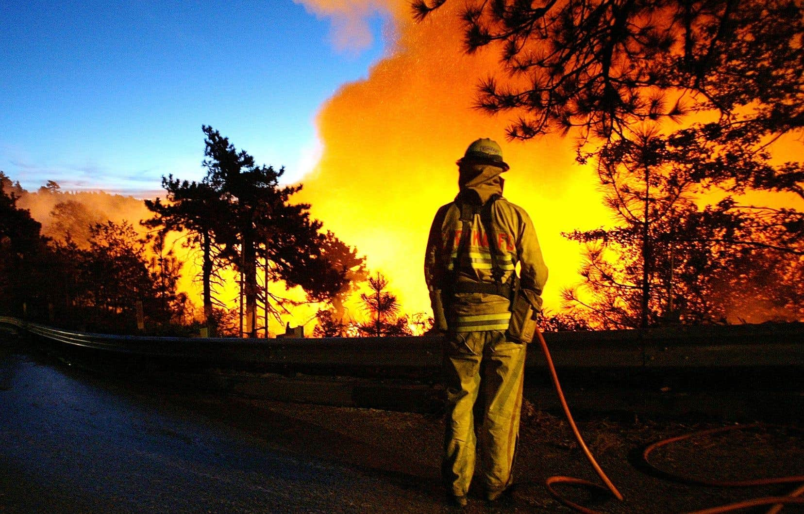 Les incendies de l'été en Californie illustrent bien les conséquences du réchauffement climatique.