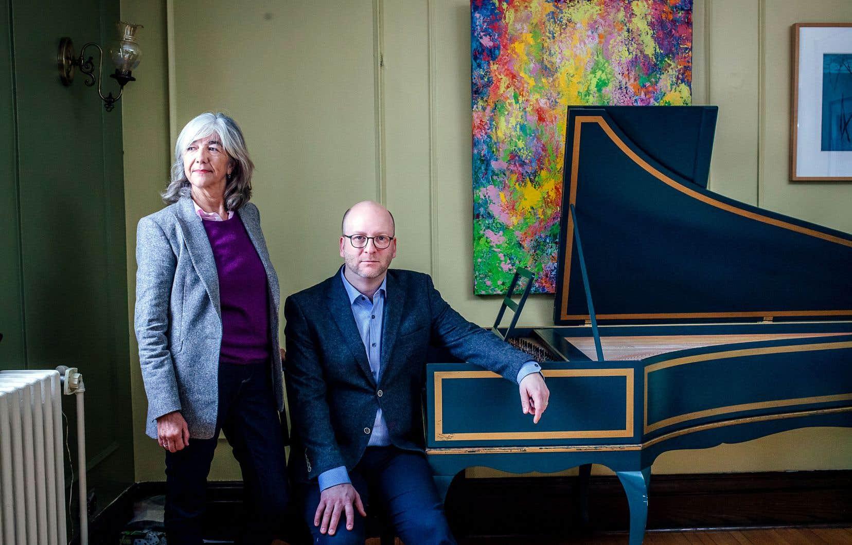 Après 37ans à la tête de la direction artistique de l'orchestre Arion, Claire Guimond passe le relais à Mathieu Lussier.