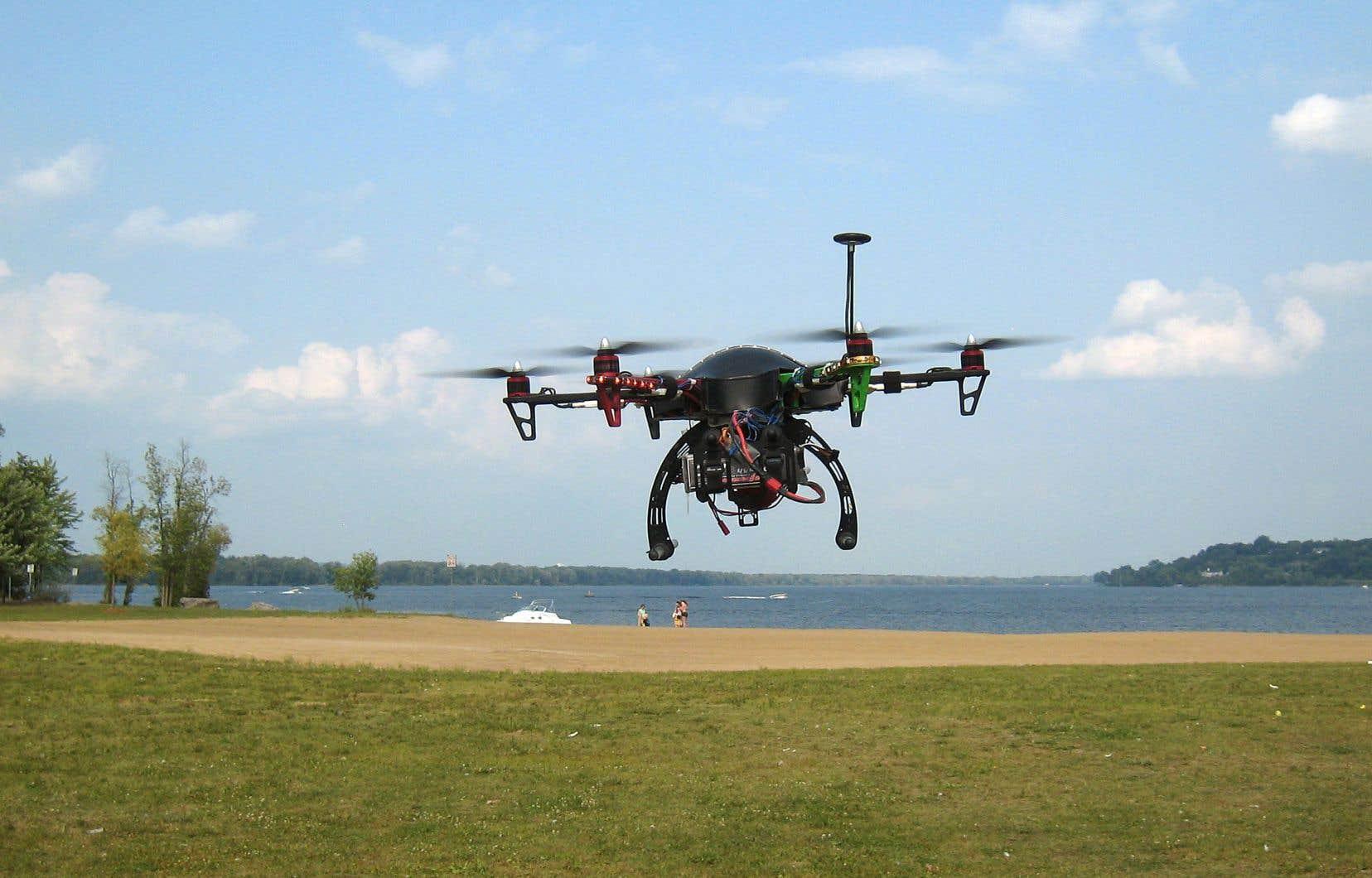 Les règles ciblent les drones de 250 grammes à 25 kilos.