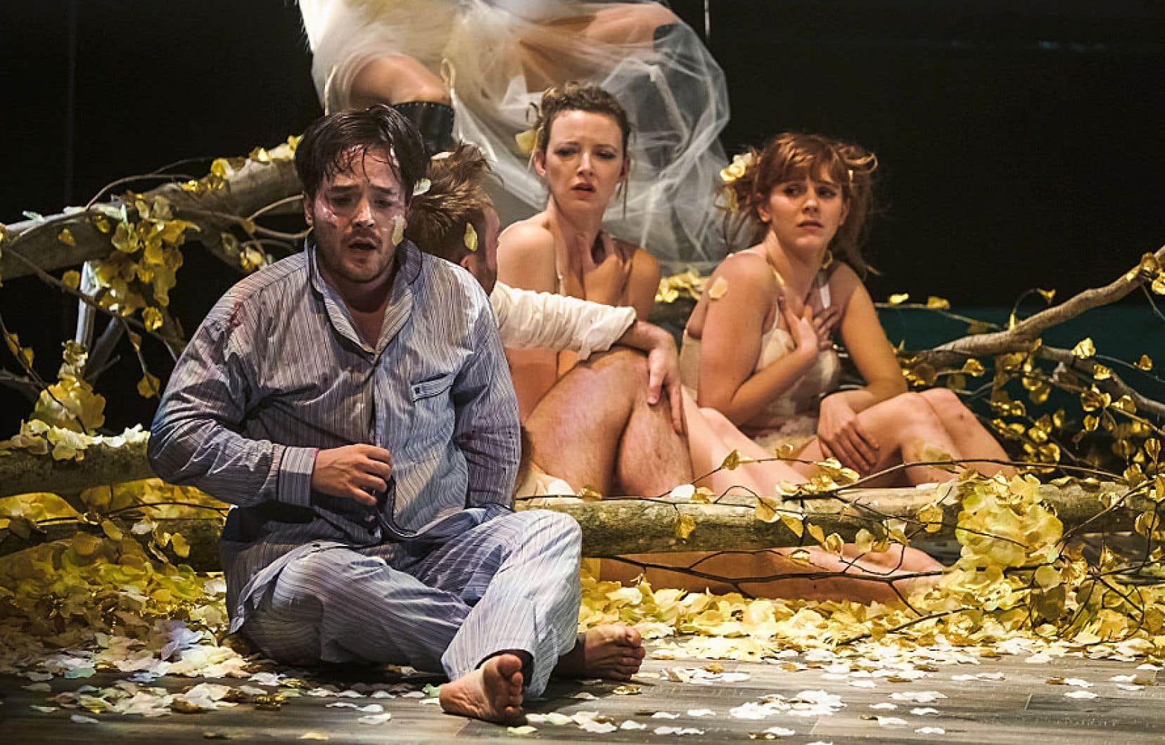 La compagnie Flip Fabrique présente «Le songe d'une nuit d'été» à la Tohu, du 30janvier au 10février. On y retrouvera «un Shakespeare bouffon, rocambolesque et athlétique».