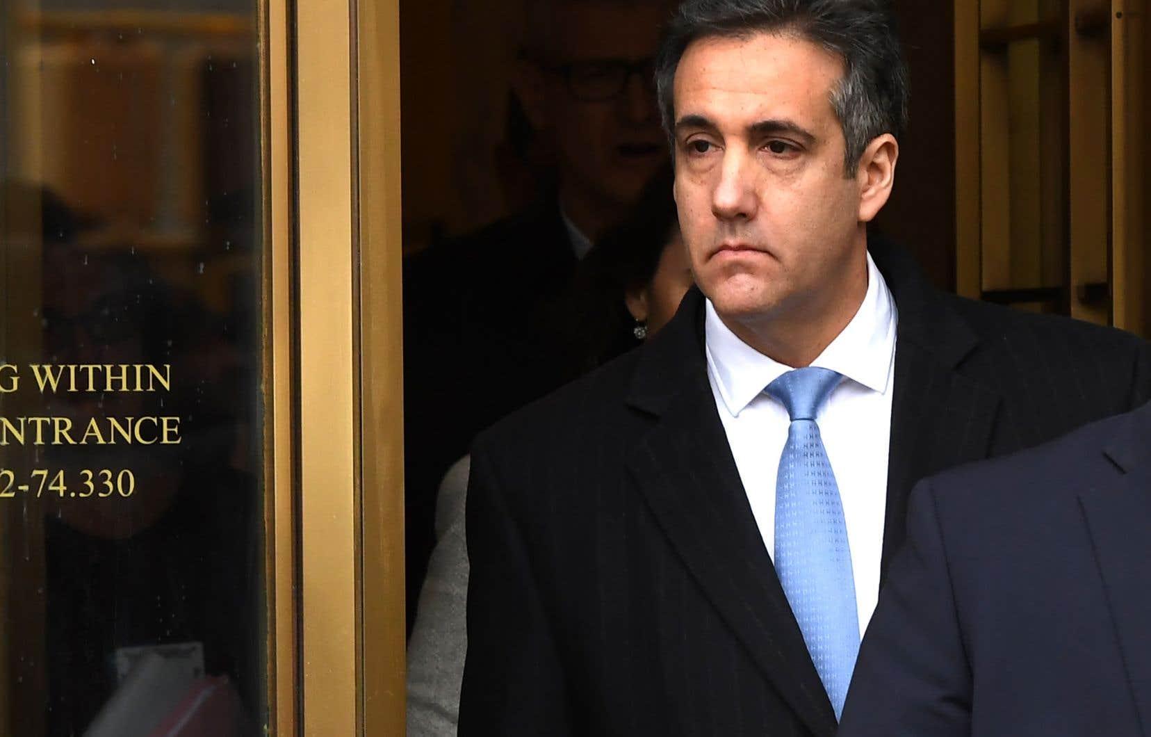 L'ex-avocat personnel de Donald Trump, Michael Cohen