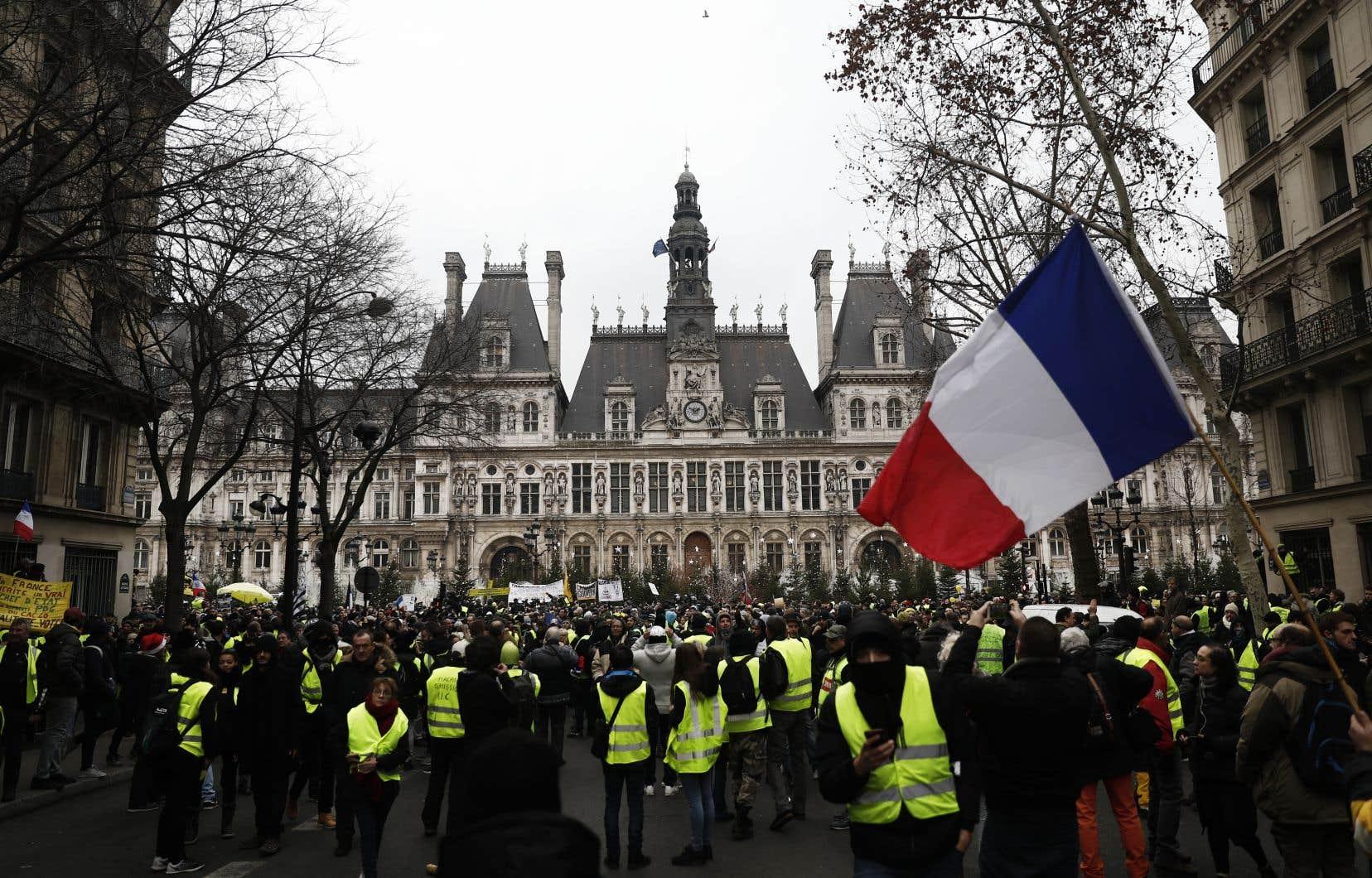 Manifestation de gilets jaunes le 5 janvier dernier à Paris