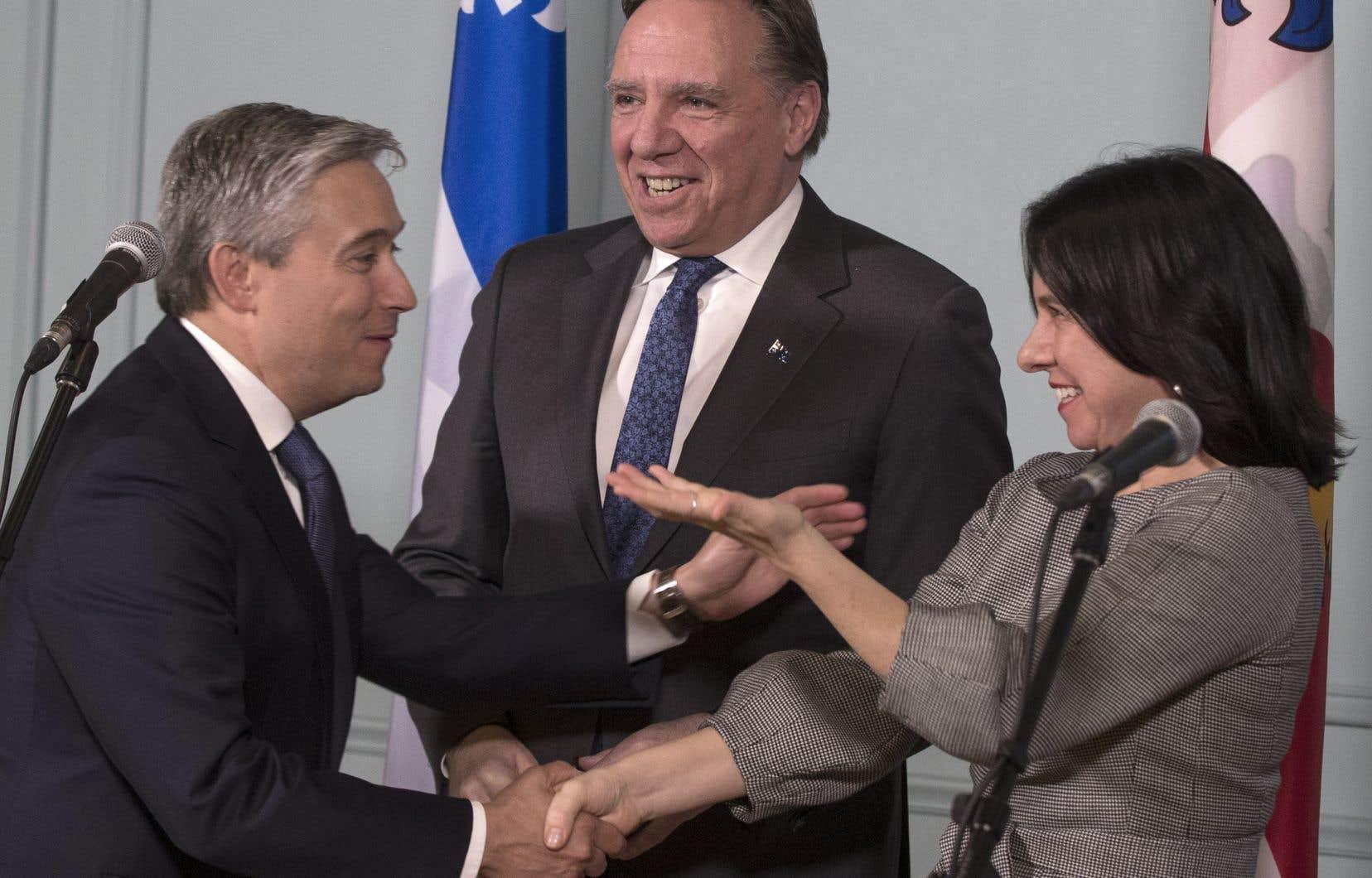 L'annonce a été faite jeudi à Montréal par le premier ministre du Québec, François Legault, le ministre fédéral de l'Infrastructure, François-Philippe Champagne, et la mairesse de Montréal, Valérie Plante.