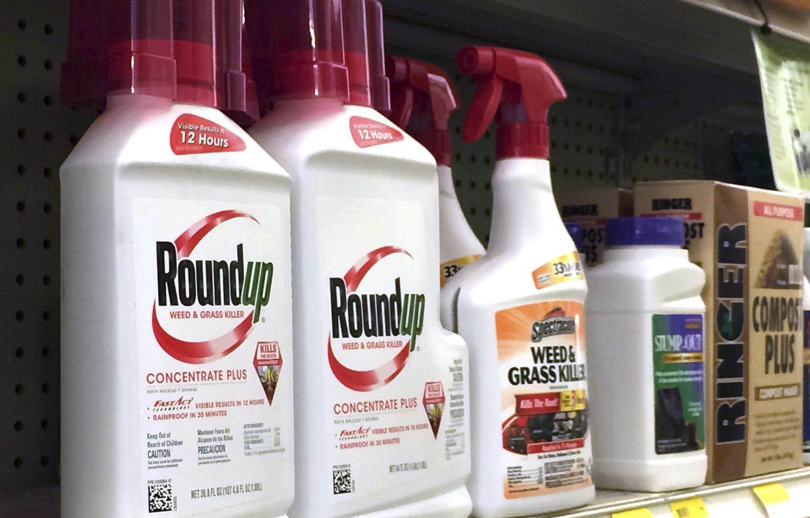 Le glyphosate est l'ingrédient actif du Roundup de Monsanto, l'herbicide le plus vendu au Canada.