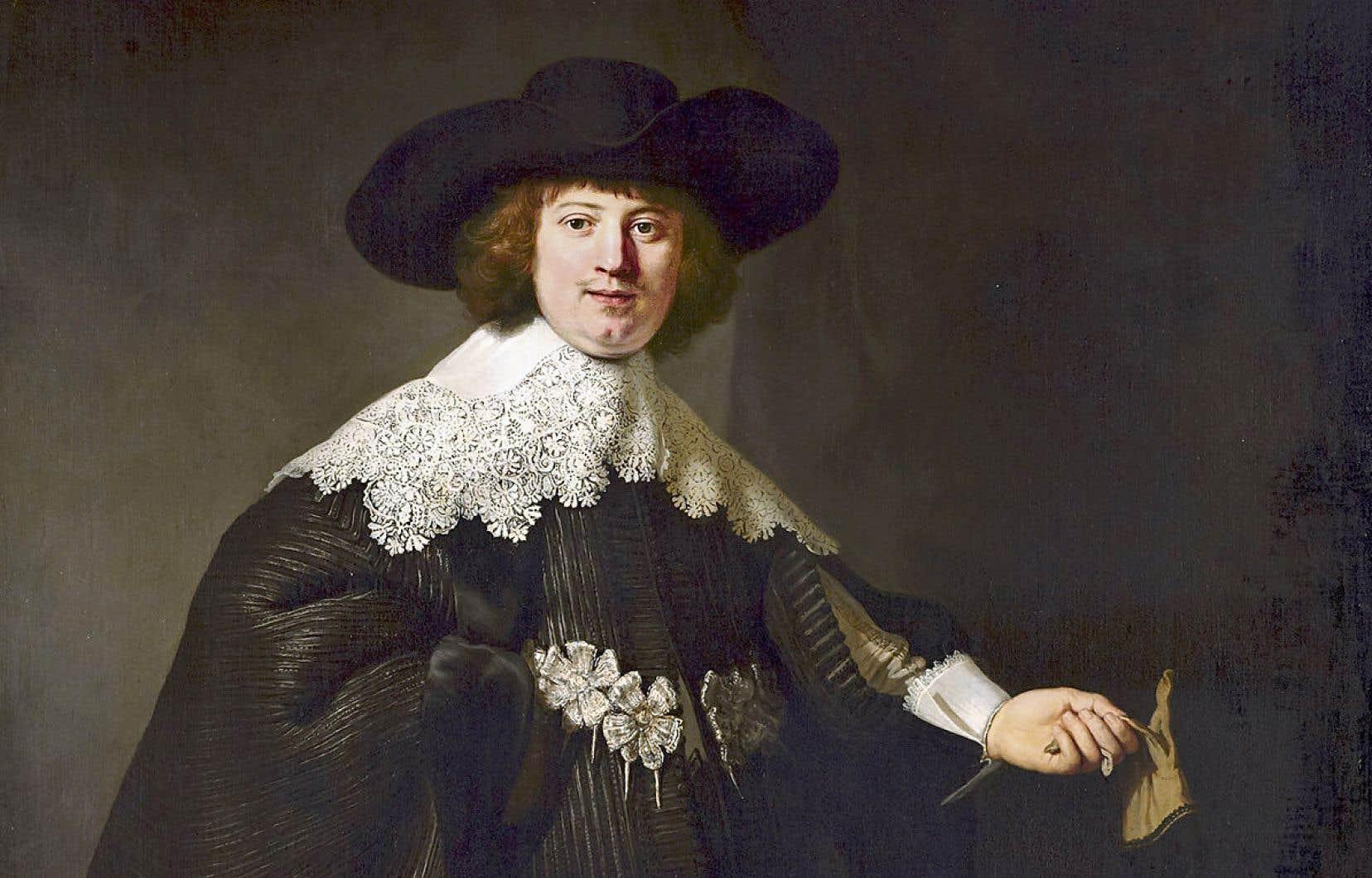En vertu d'une entente entre la France et les Pays-Bas, le «Portrait de Marten Soolmans» (1634), de Rembrandt, est présenté en alternance au Rijksmuseum, à Amsterdam, et au musée du Louvre, à Paris.