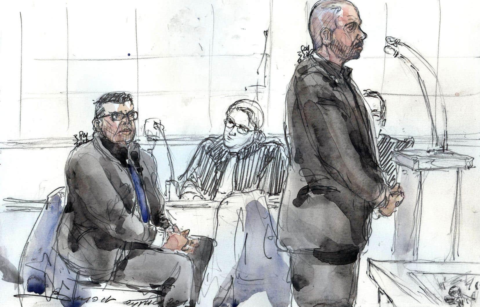 Le procès pour viol des deux policiers s'est ouvert lundi à Paris.