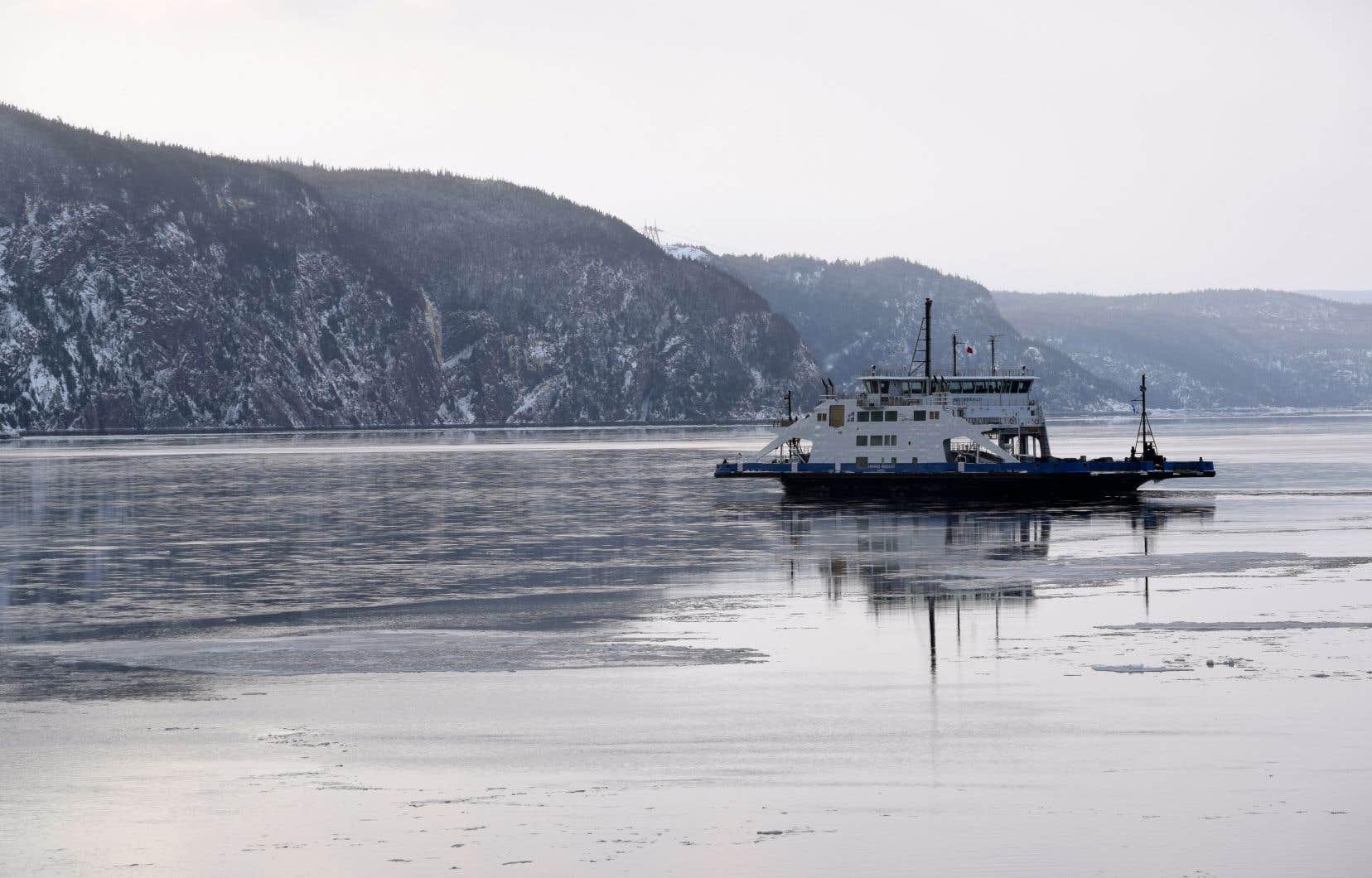 Le gaz naturel liquéfié au complexe Énergie Saguenay sera exporté par des navires qui traverseront le parc marin du Saguenay—Saint-Laurent.