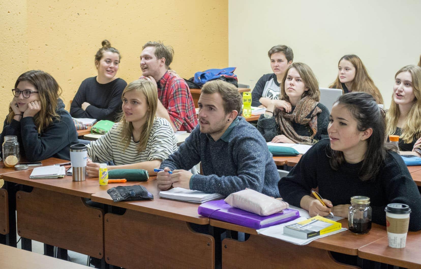 Les universités n'ont pas manqué de rappeler que leur avenir passe par un réinvestissement.