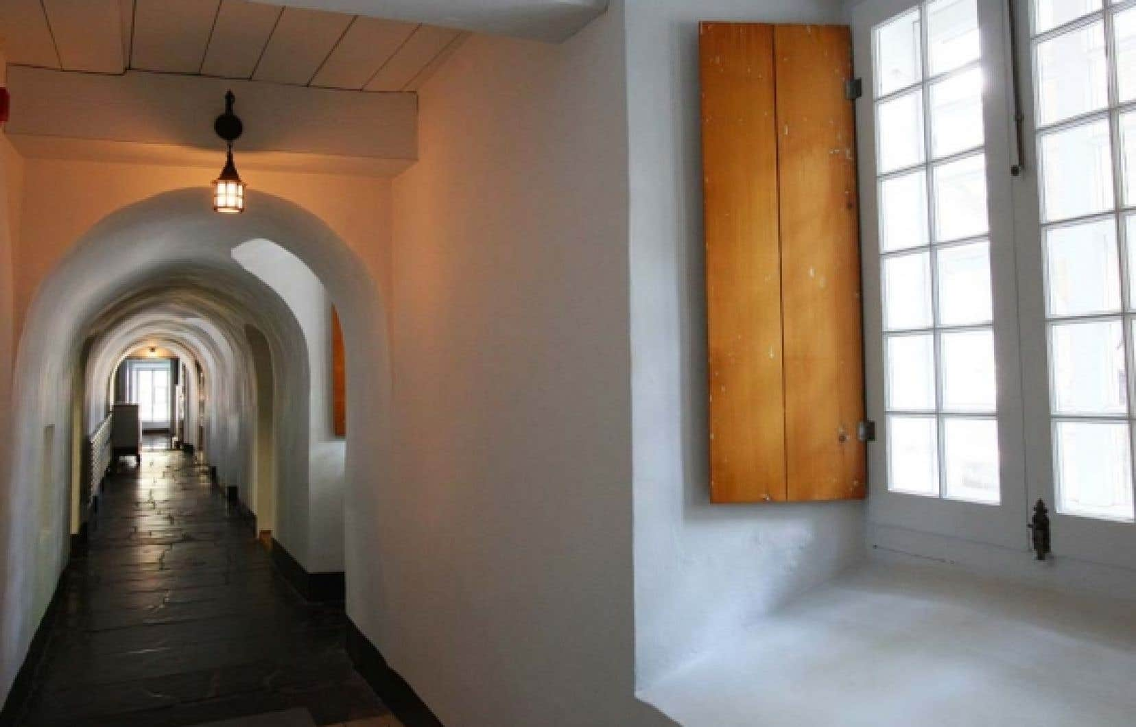 Un corridor du monastère des Ursulines, à Québec. Le couvent est un joyau encore trop peu connu.