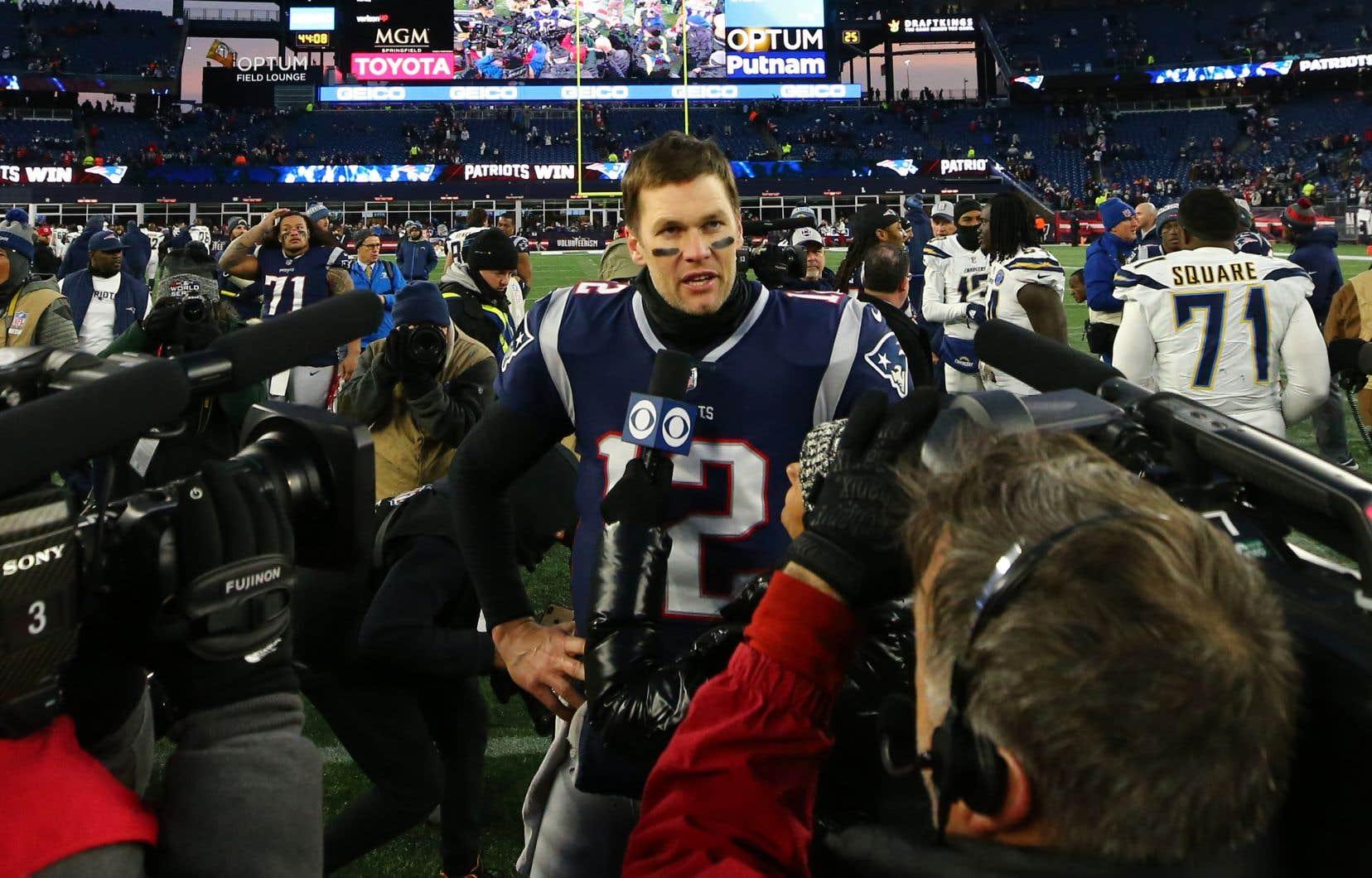 Tom Brady des Patriots
