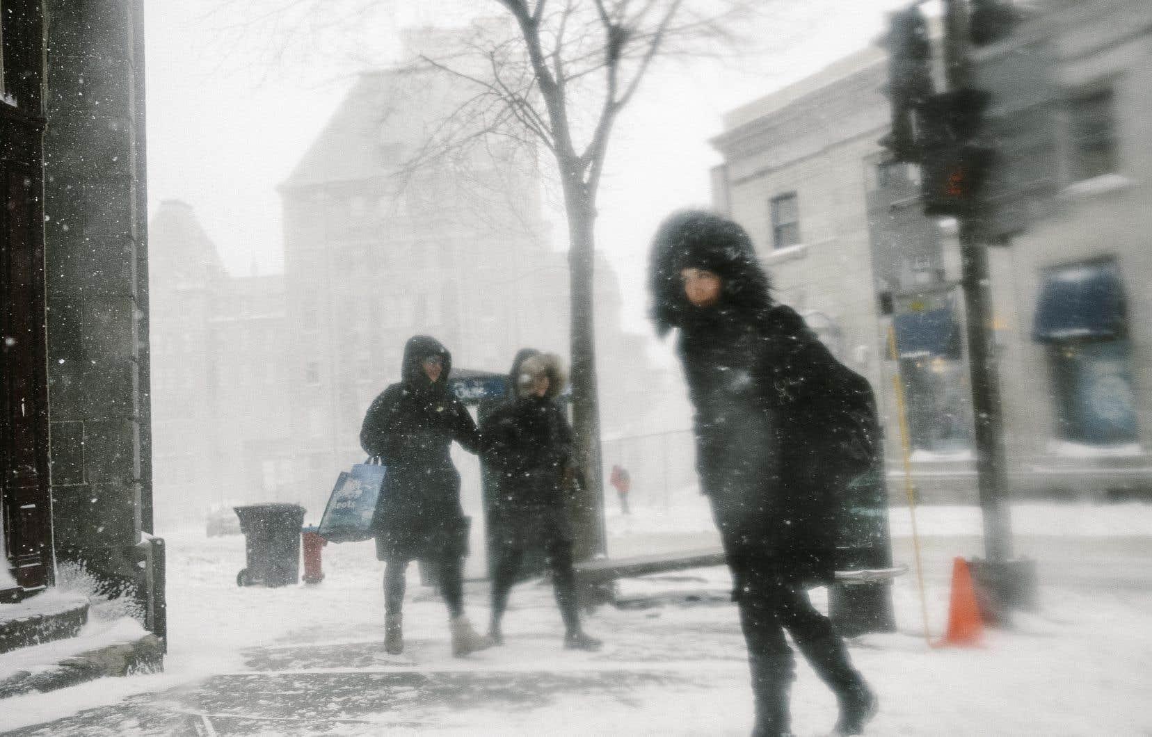 À Québec, le mercure ne dépassera pas les –20°C samedi.