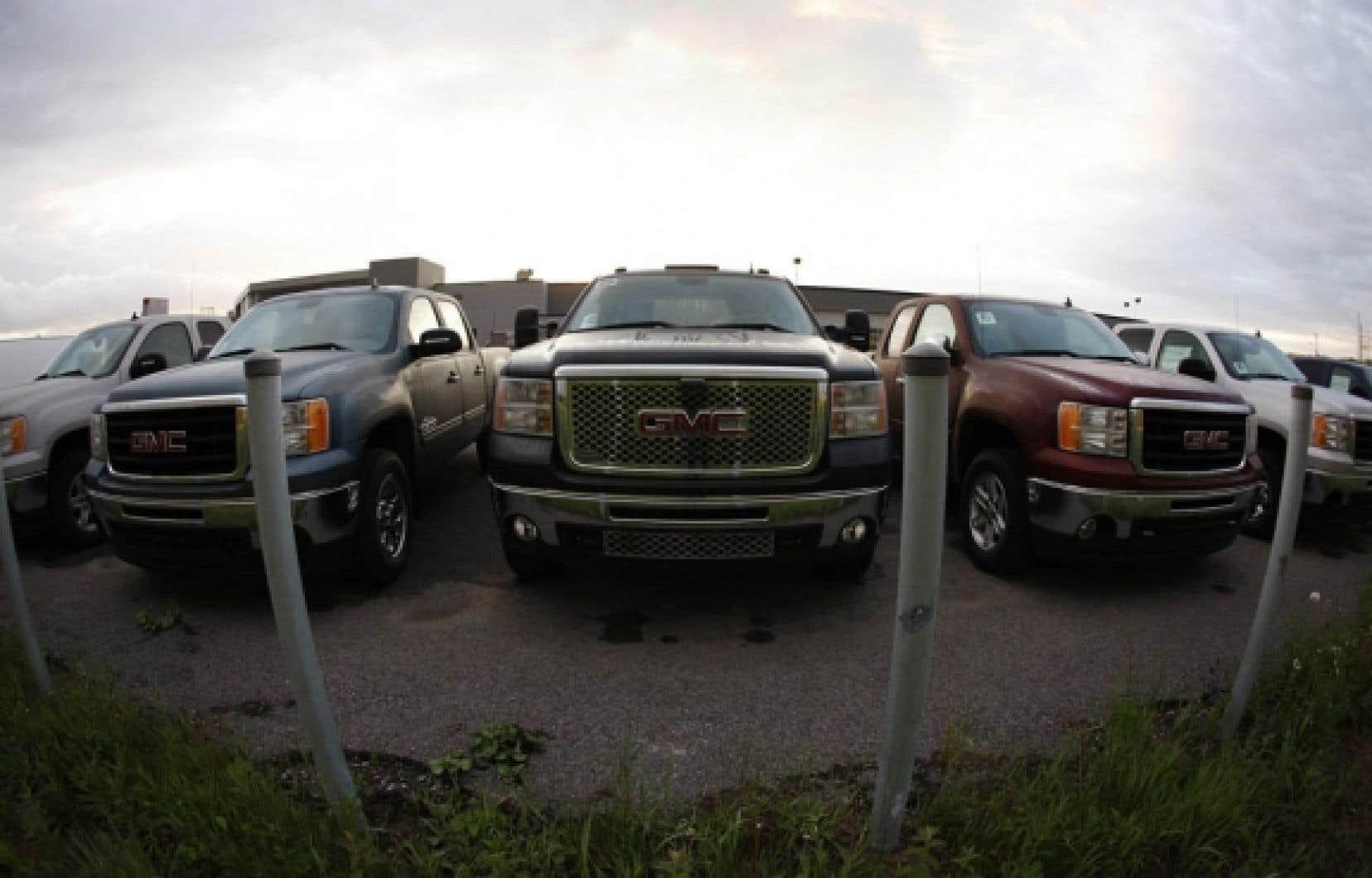Les ventes de camions légers ont crû de 32 % au Québec depuis le début de l'année, soit quatre fois plus que les ventes de voitures (8 %).