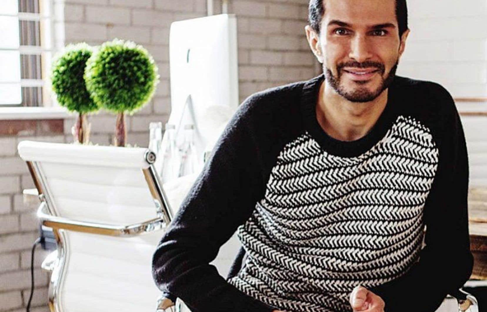 M.Truaxe, né Ali Roshan, en Iran, a fondé Deciem en 2013 en la qualifiant de «société de beauté anormale».