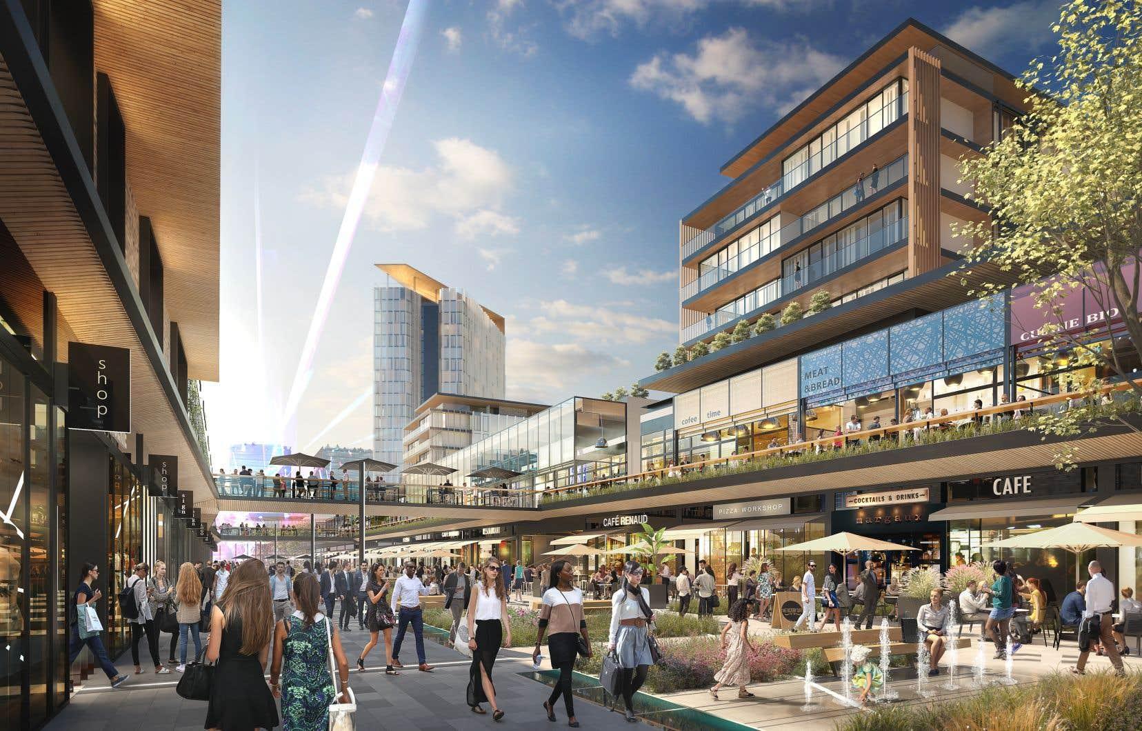 Les attentes sont grandes pour le développement d'un tout nouveau quartier sur l'ancien terrain de courses.