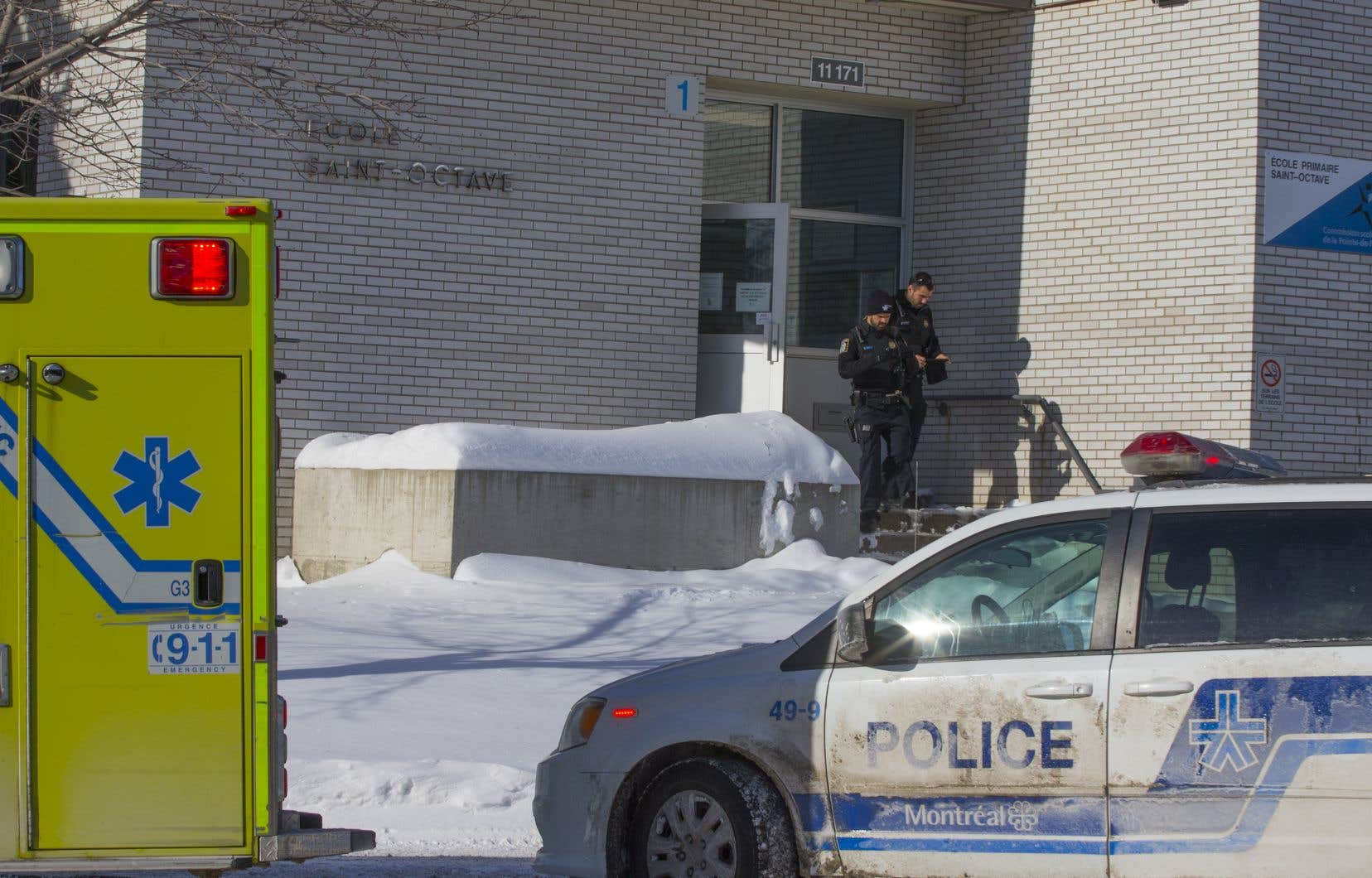 Une vingtaine d'enfants de l'école Saint-Octave se sont plaints de nausées et de maux de tête.
