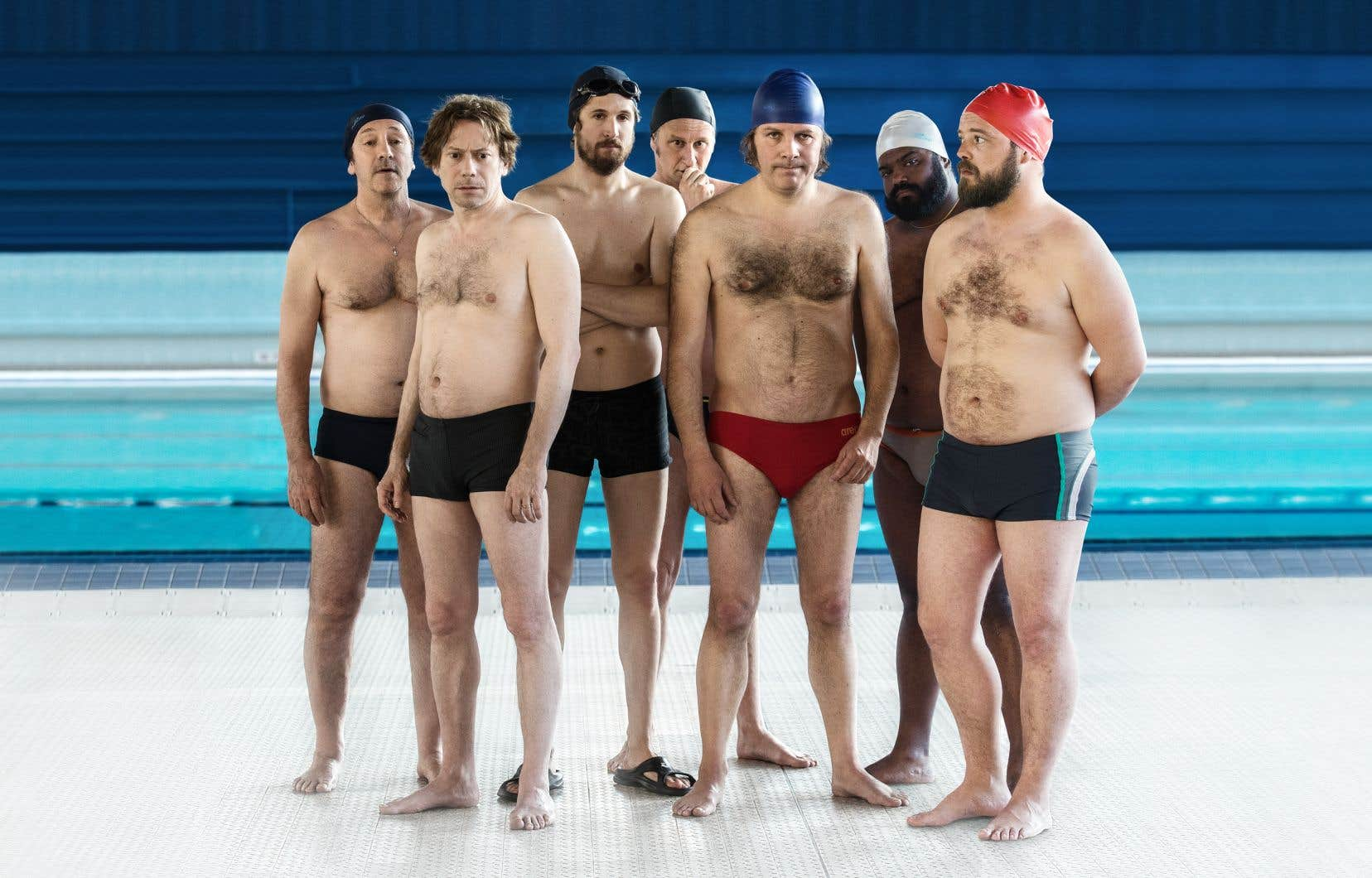 Image tirée du film «Le grand bain» de Gilles Lellouche